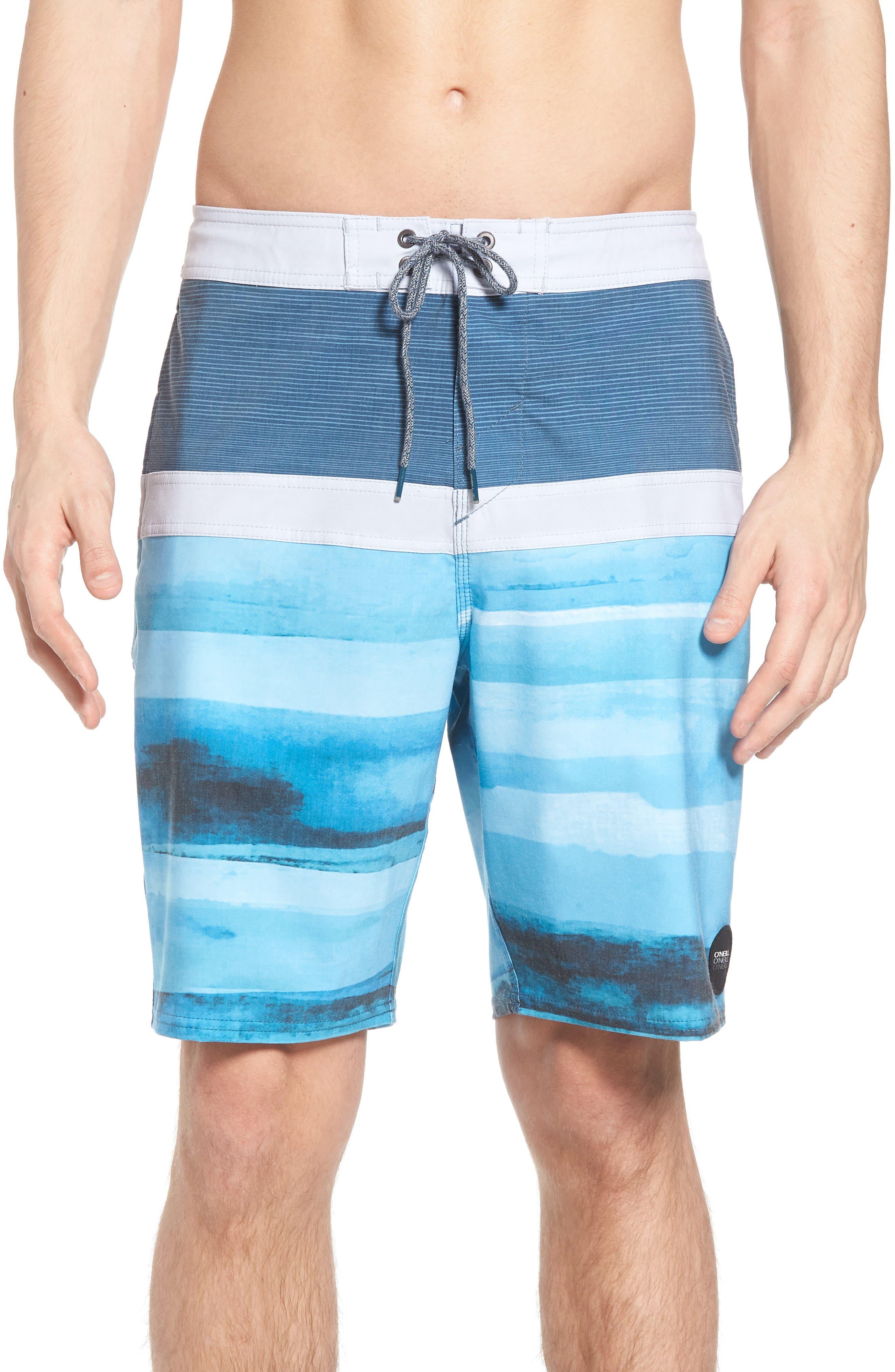 Breaker Cruzer Board Shorts,                             Main thumbnail 1, color,                             Ocean