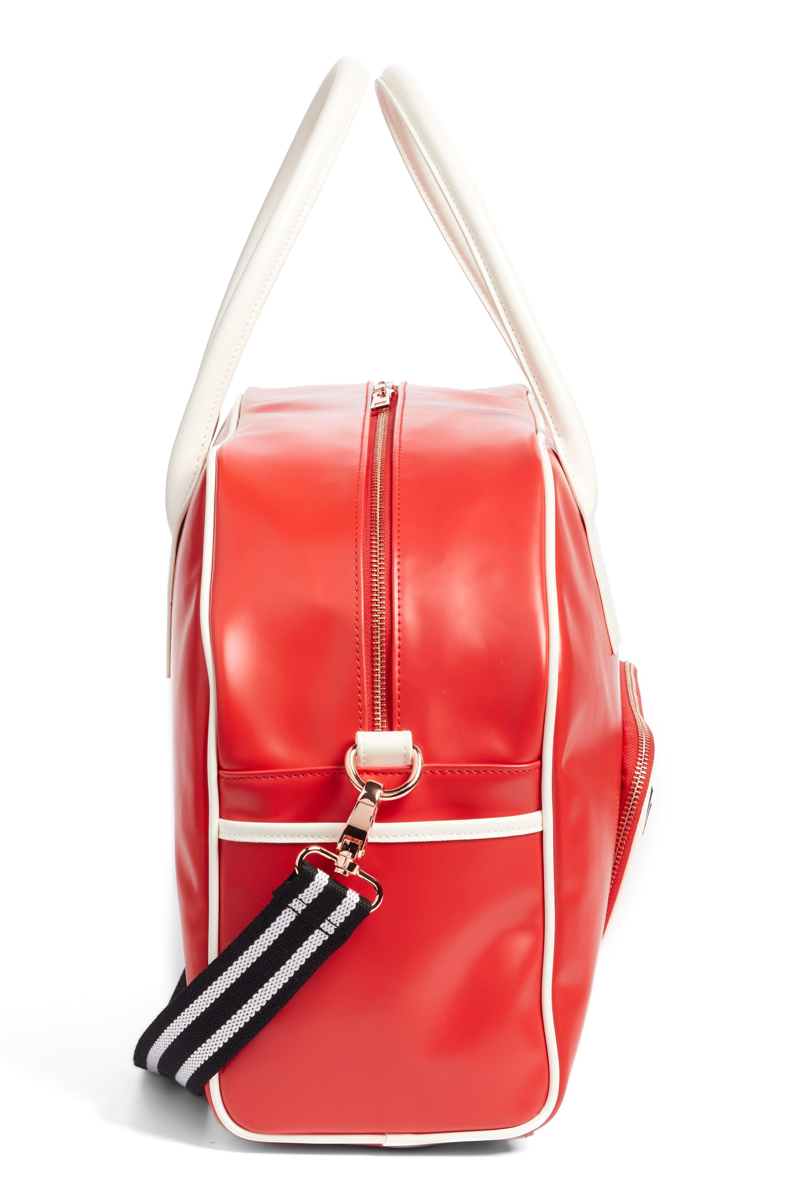 Bowler Bag,                             Alternate thumbnail 5, color,                             Scarlet Red