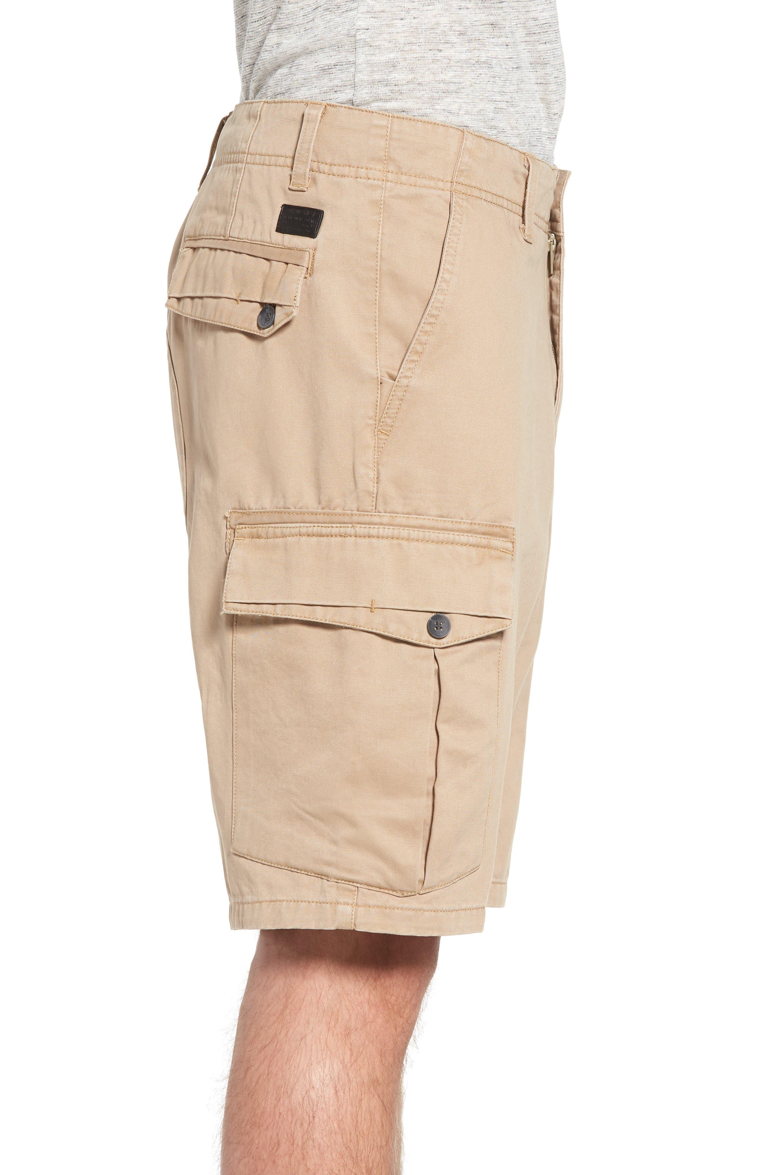 Campbell Cargo Shorts,                             Alternate thumbnail 3, color,                             Khaki