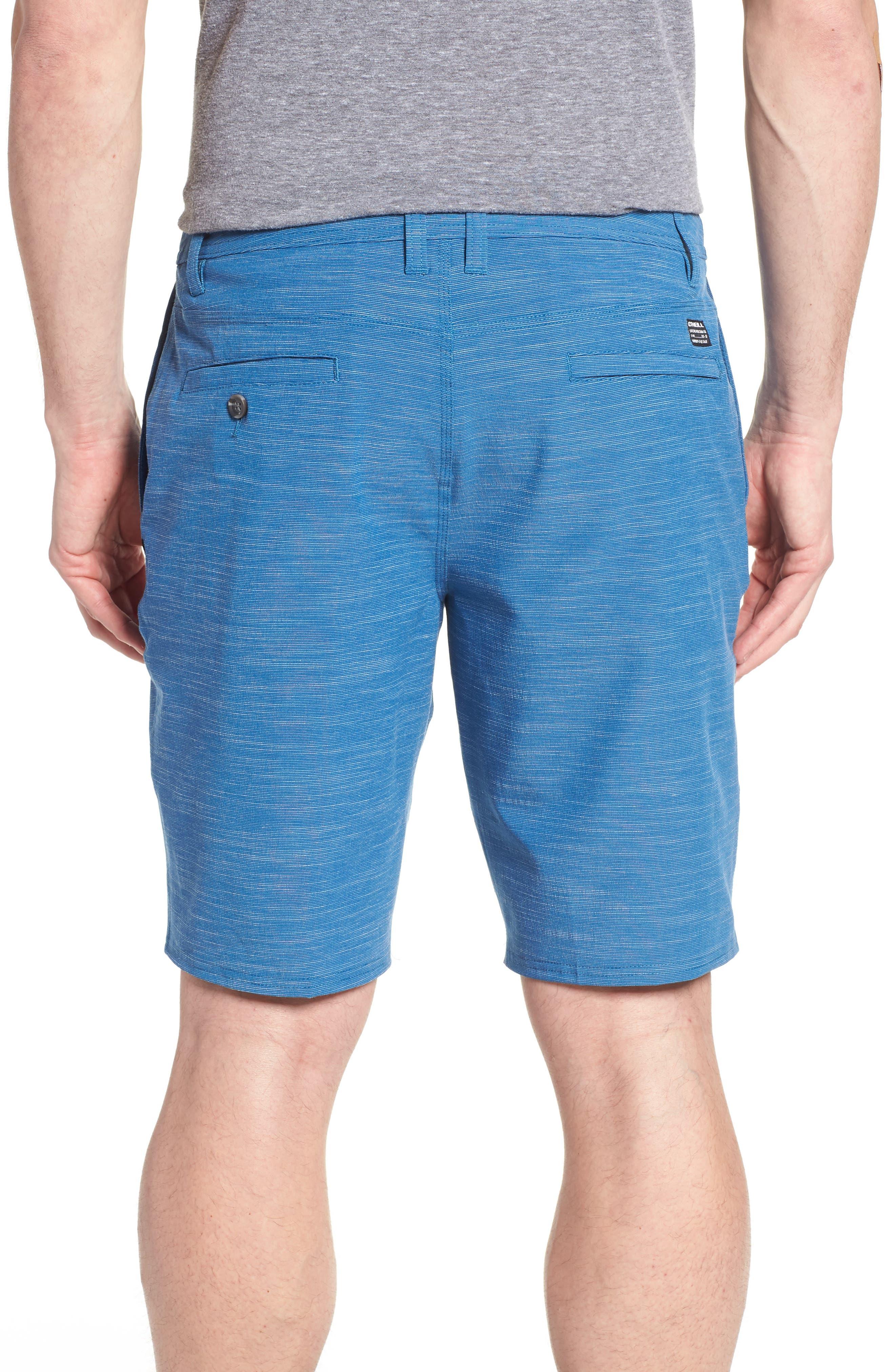 Locked Slub Hybrid Shorts,                             Alternate thumbnail 2, color,                             Air Force Blue