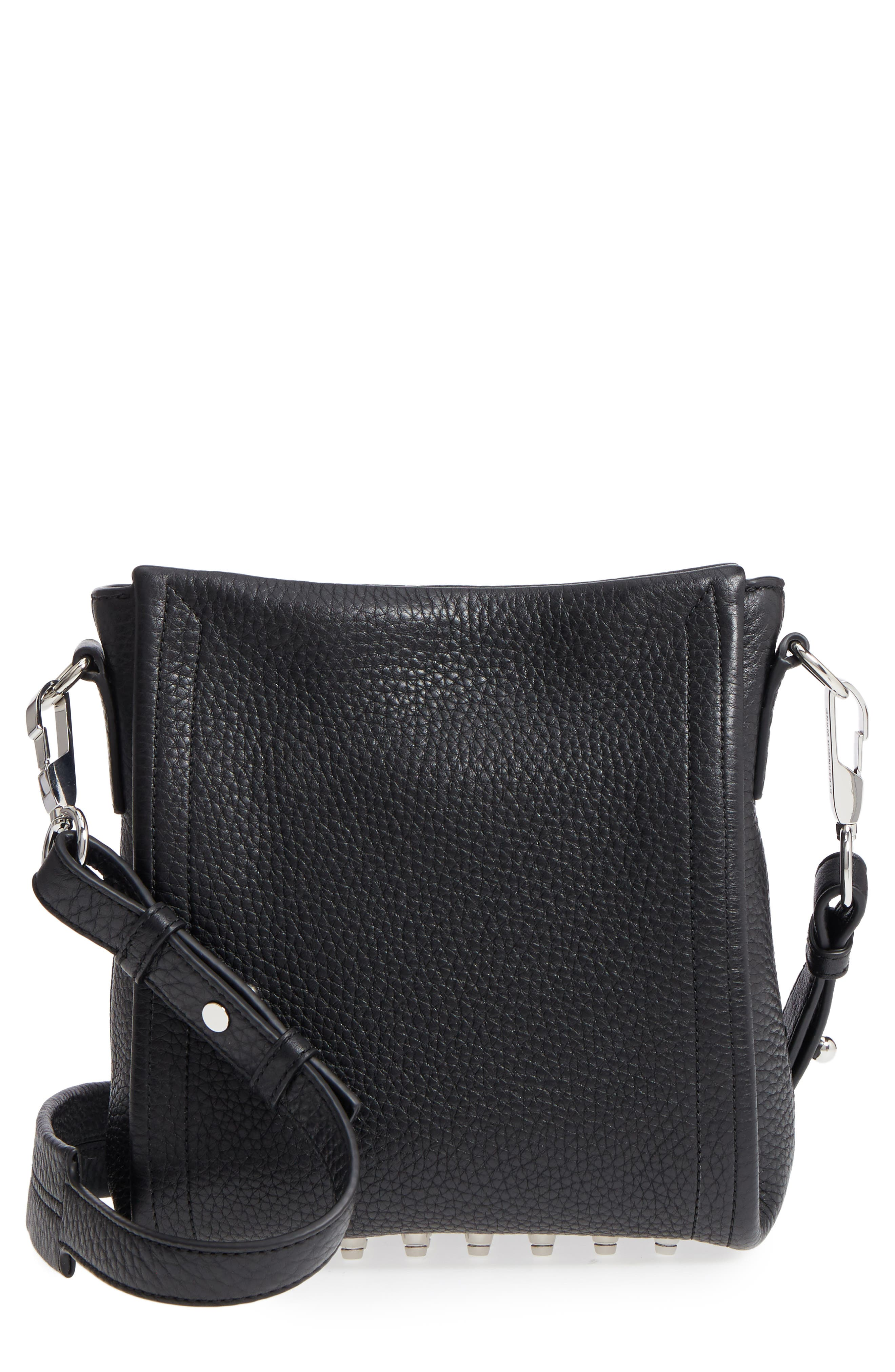 Alternate Image 1 Selected - Alexander Wang Mini Darcy Leather Shoulder Bag