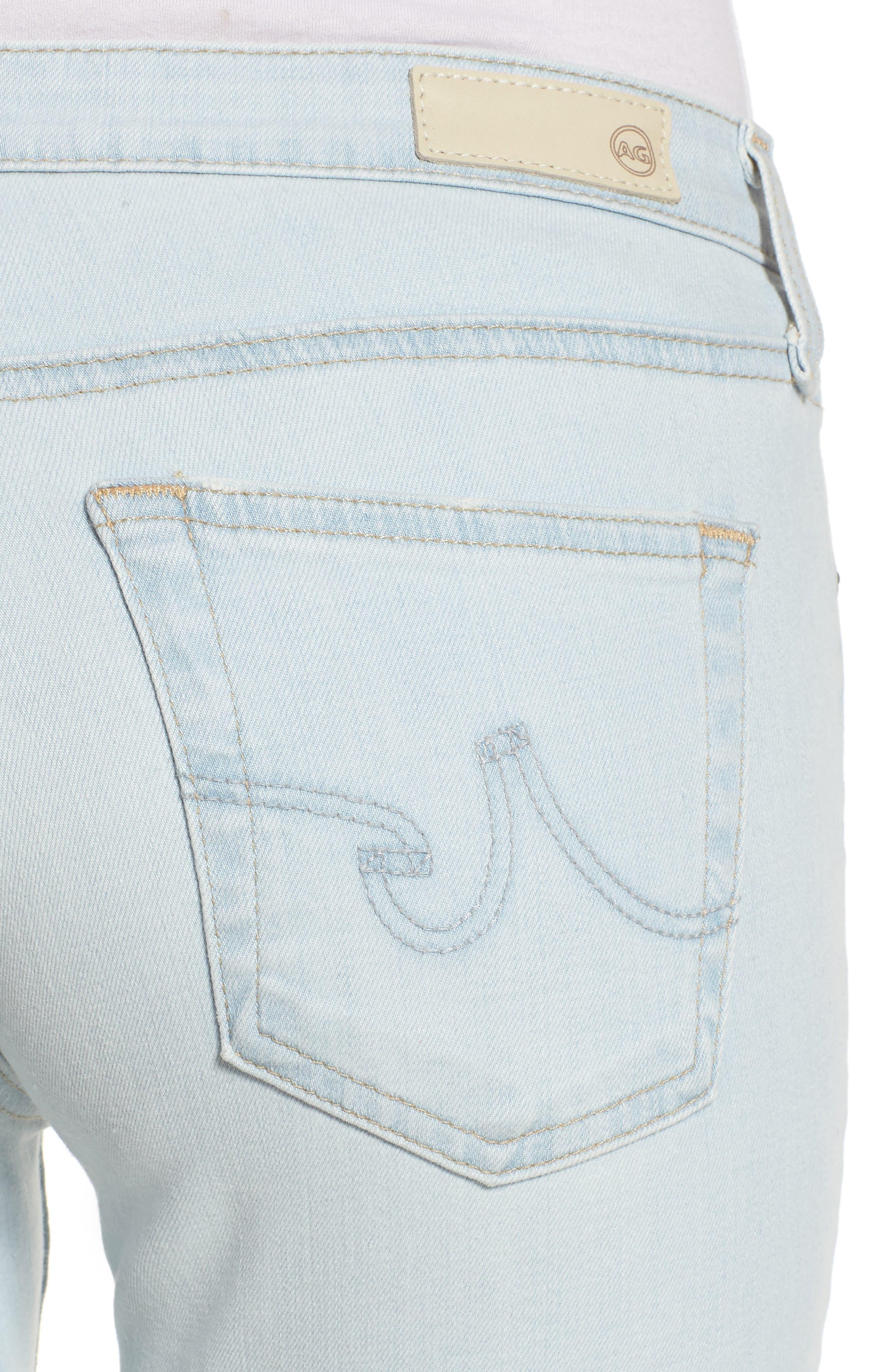 The Legging Ankle Skinny Jeans,                             Alternate thumbnail 4, color,                             26 Years-Sandcastles
