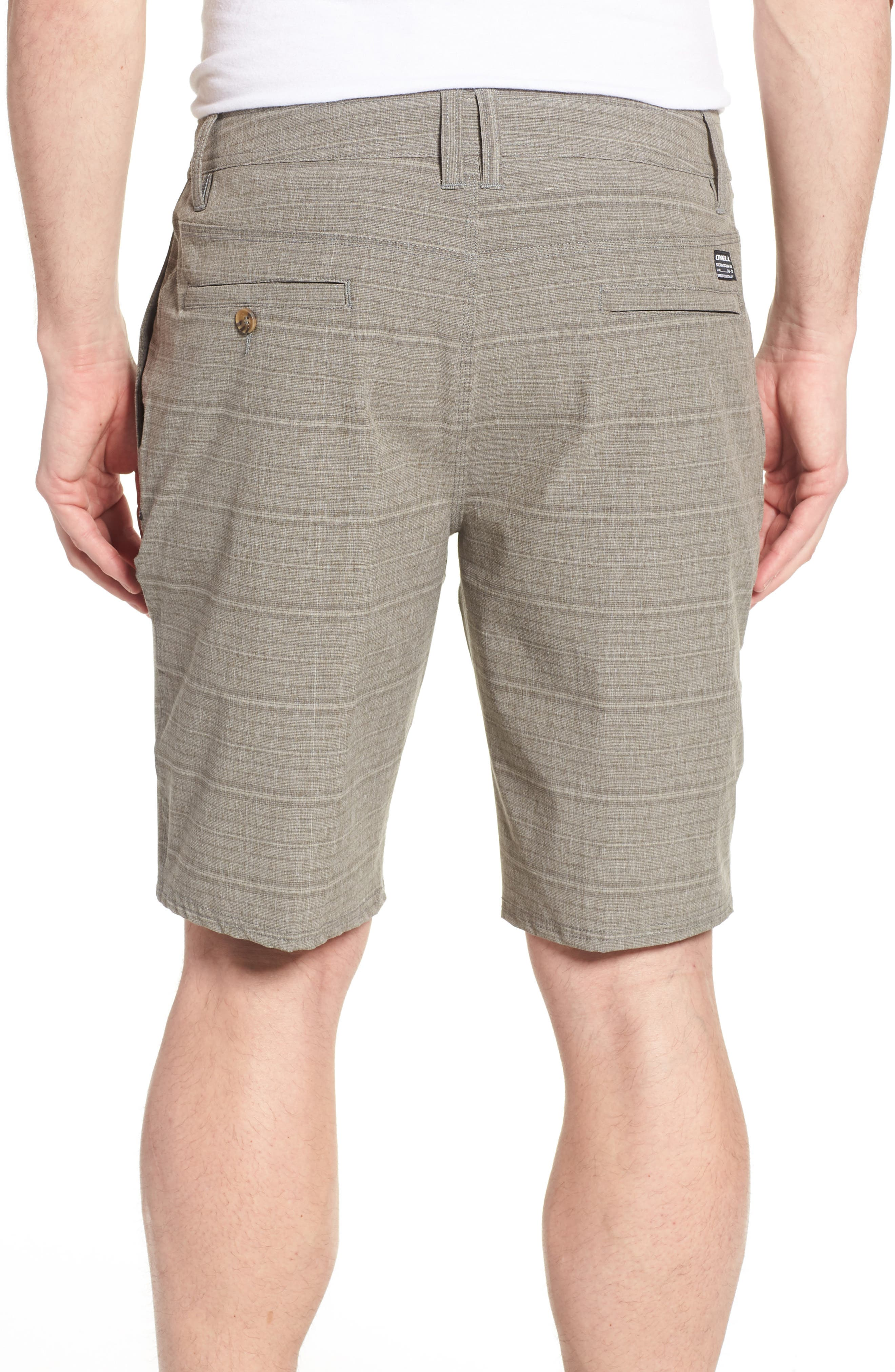 Alternate Image 2  - O'Neill Locked Stripe Hybrid Shorts