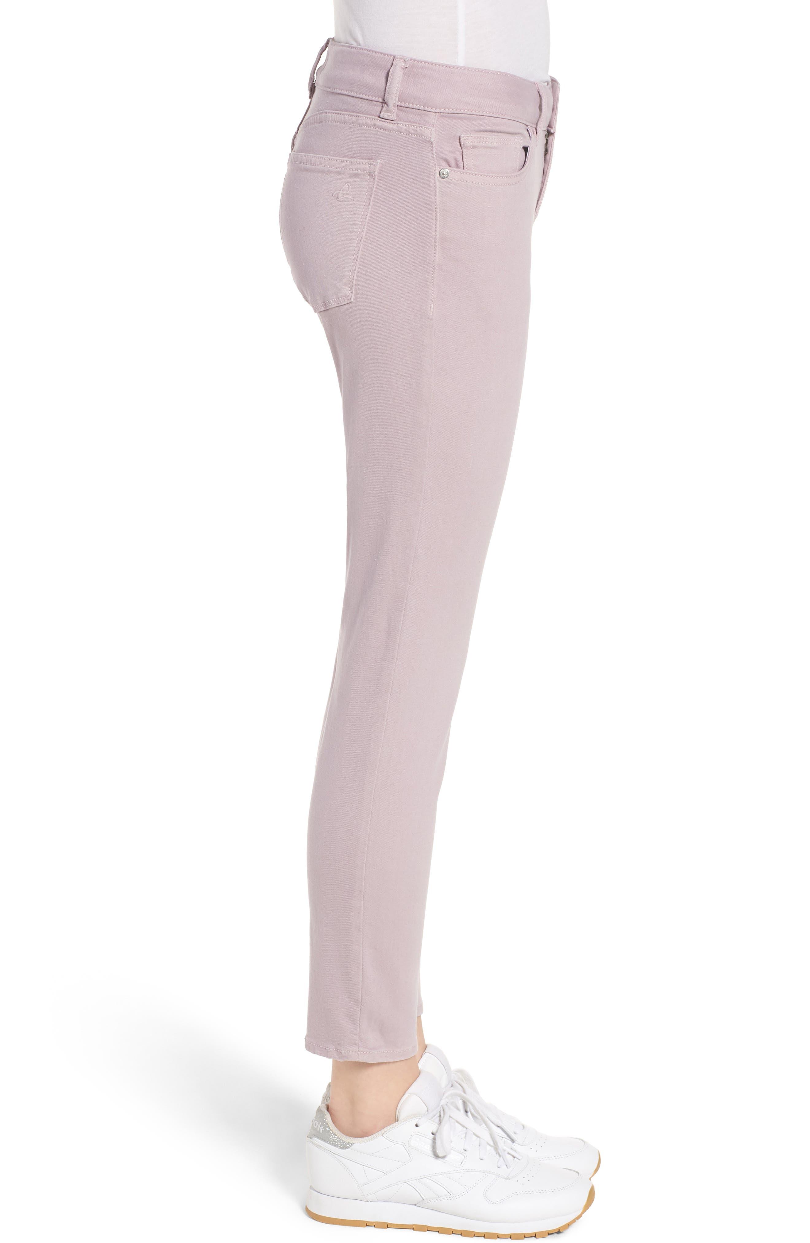 Florence Instasculpt Crop Skinny Jeans,                             Alternate thumbnail 3, color,                             Magnolia