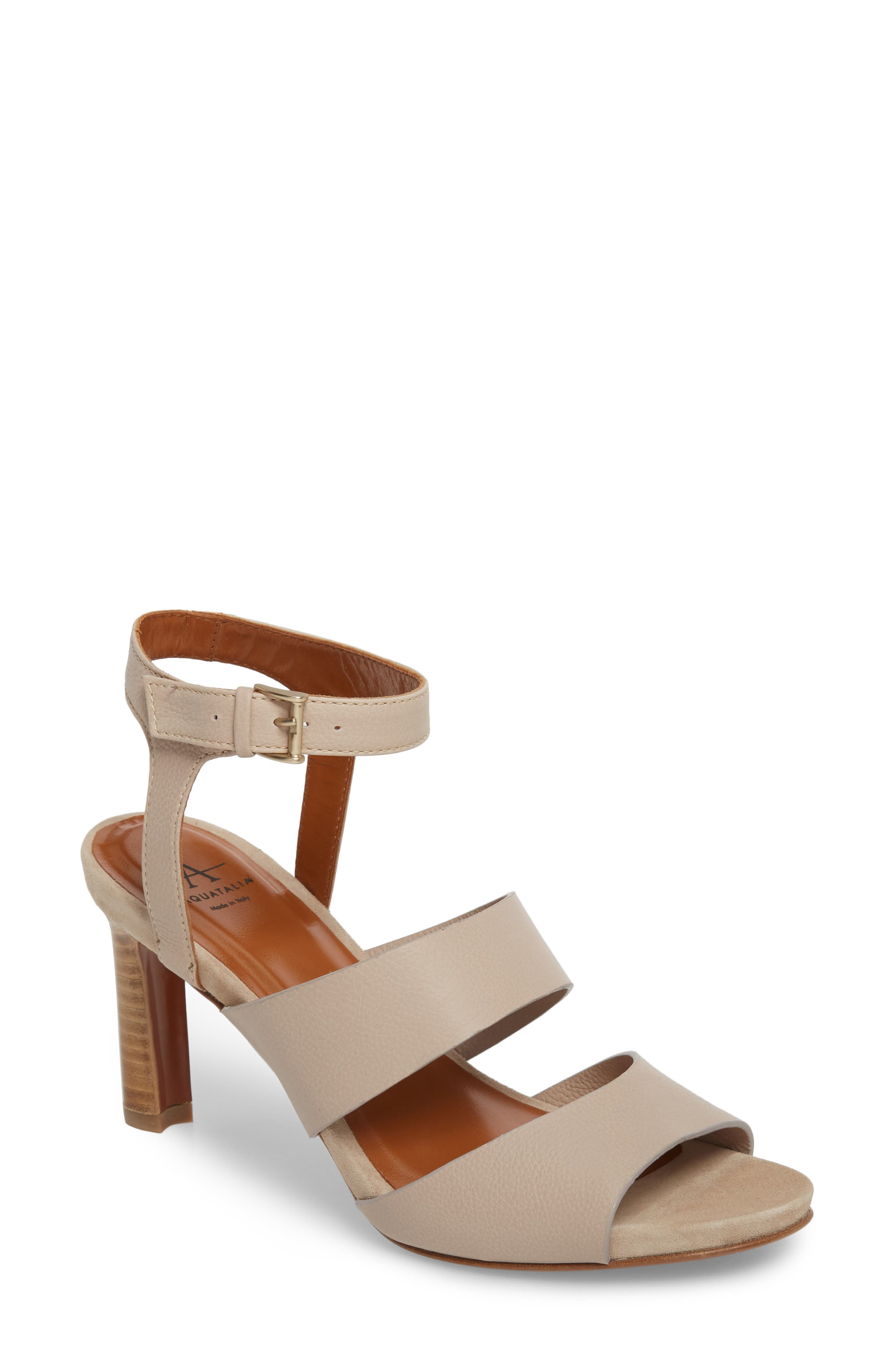 Aquatalia Women's Basha Ankle Strap Sandal T6WhXOJV