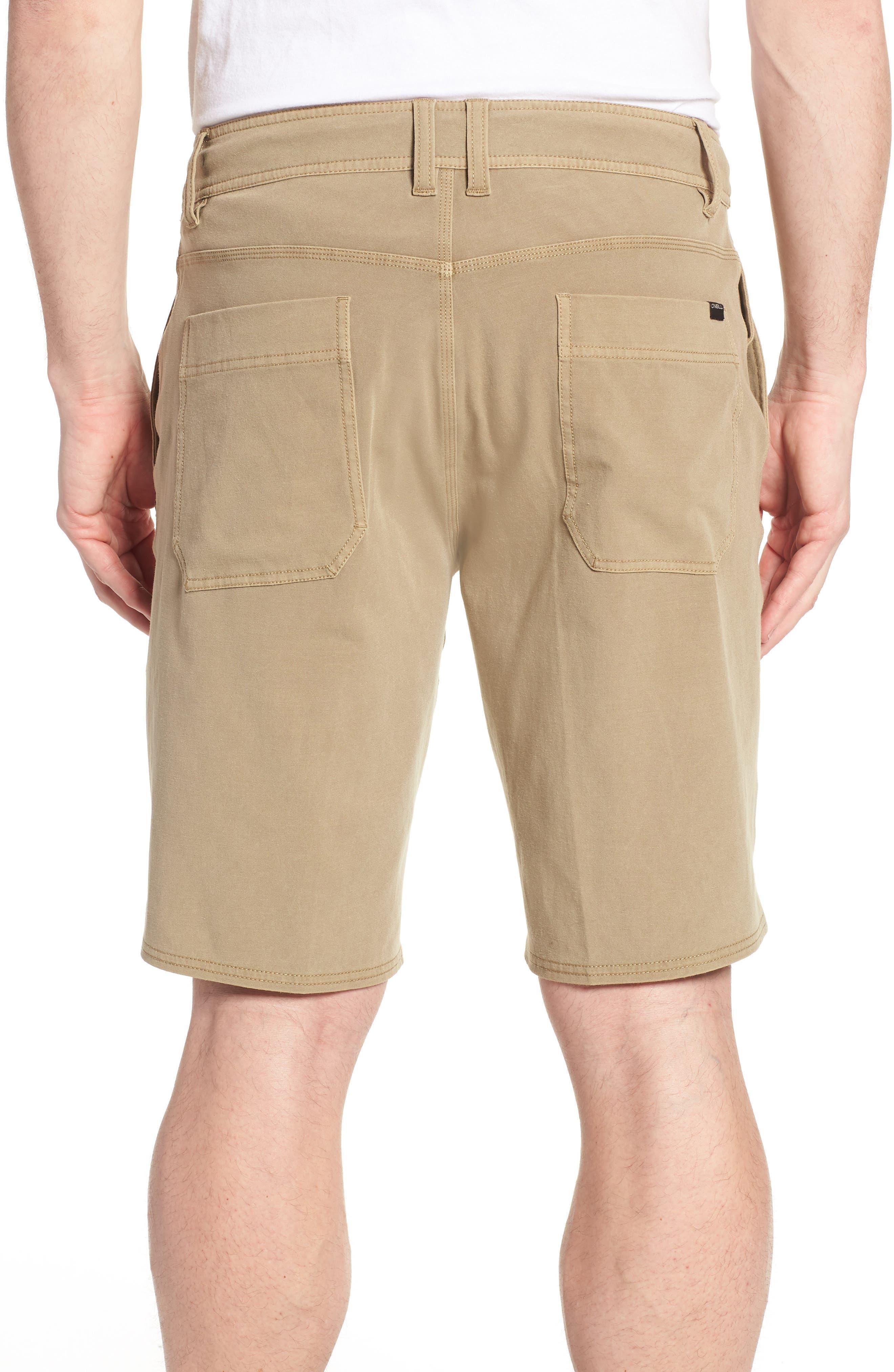 Venture Overdye Hybrid Shorts,                             Alternate thumbnail 2, color,                             Khaki