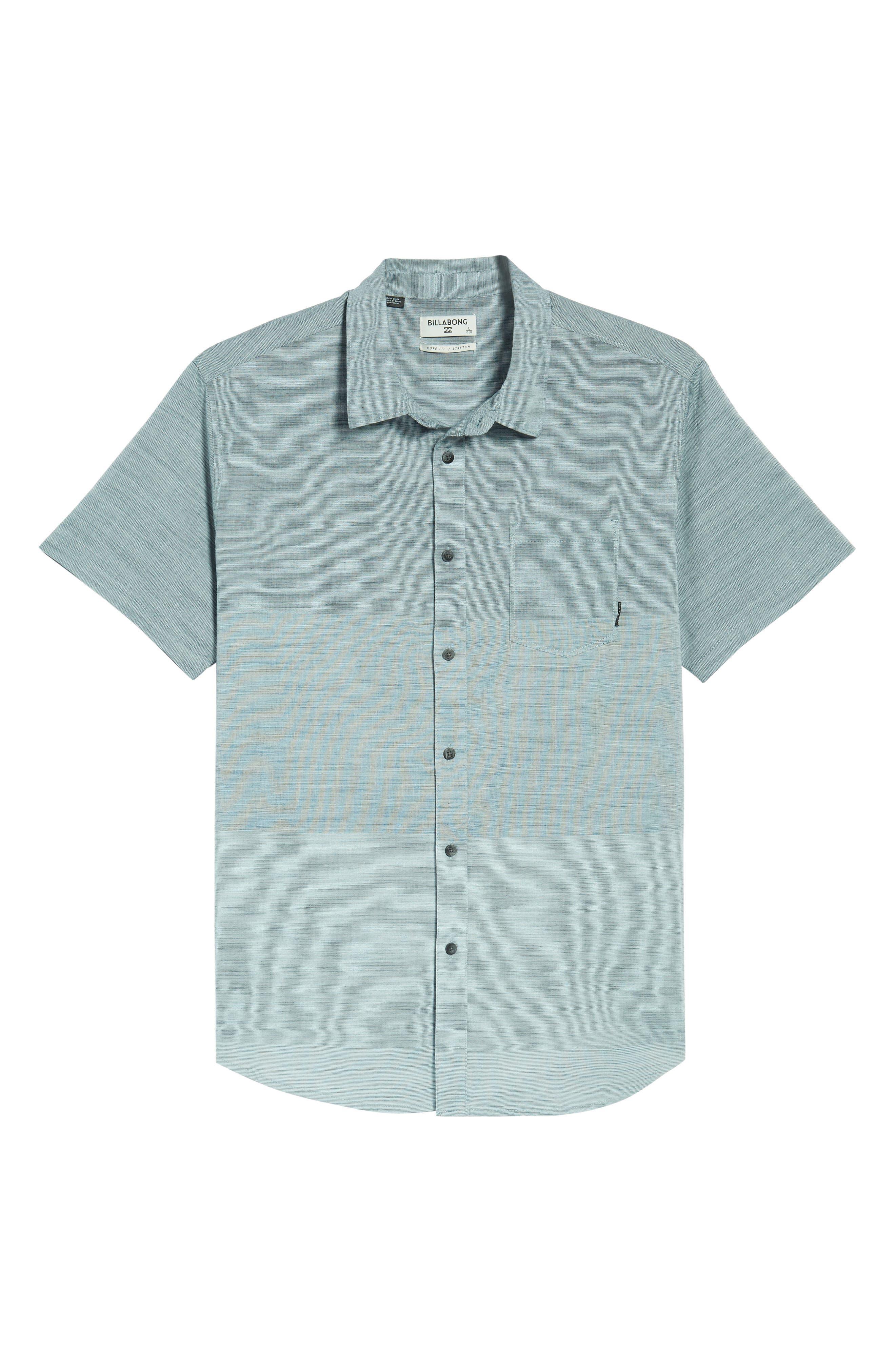 Faderade Short Sleeve Shirt,                         Main,                         color, Blue