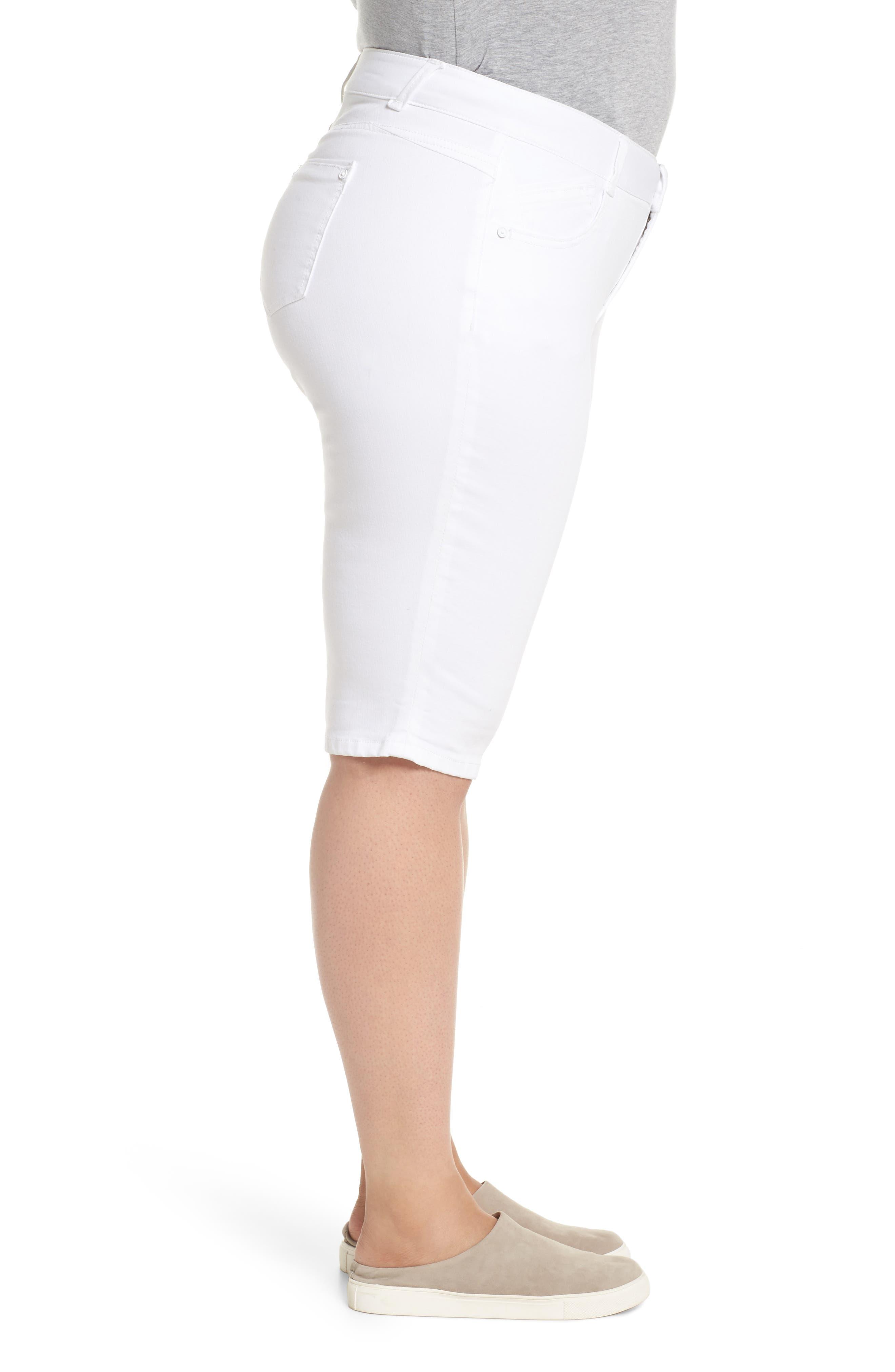 Ab-solution Bermuda Shorts,                             Alternate thumbnail 3, color,                             Optic White