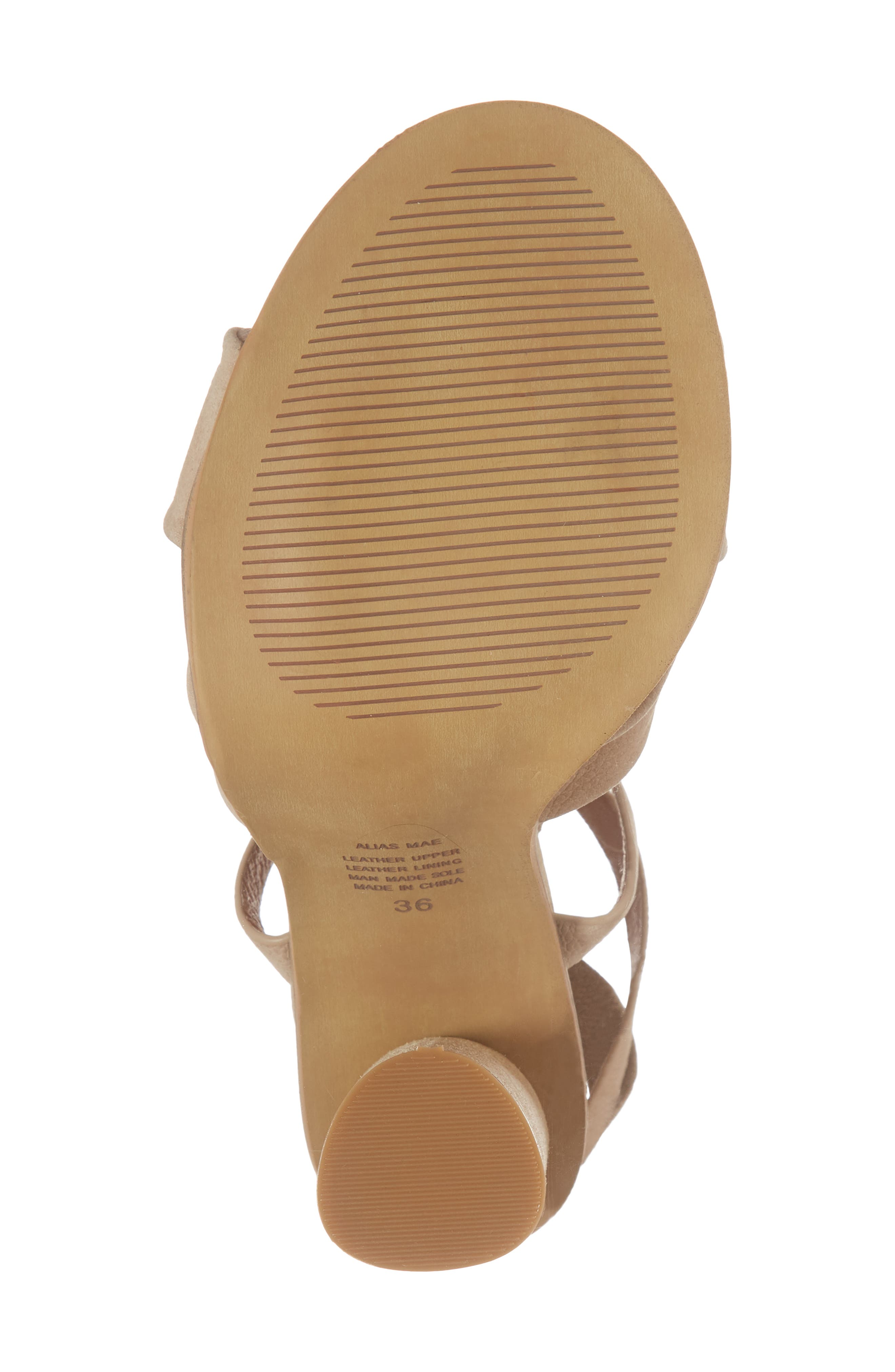 Africa Ankle Wrap Sandal,                             Alternate thumbnail 6, color,                             Natural Leather