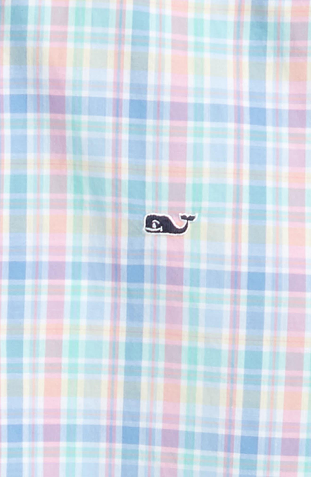 Walker's Cay Plaid Woven Shirt,                             Alternate thumbnail 2, color,                             Jake Blue