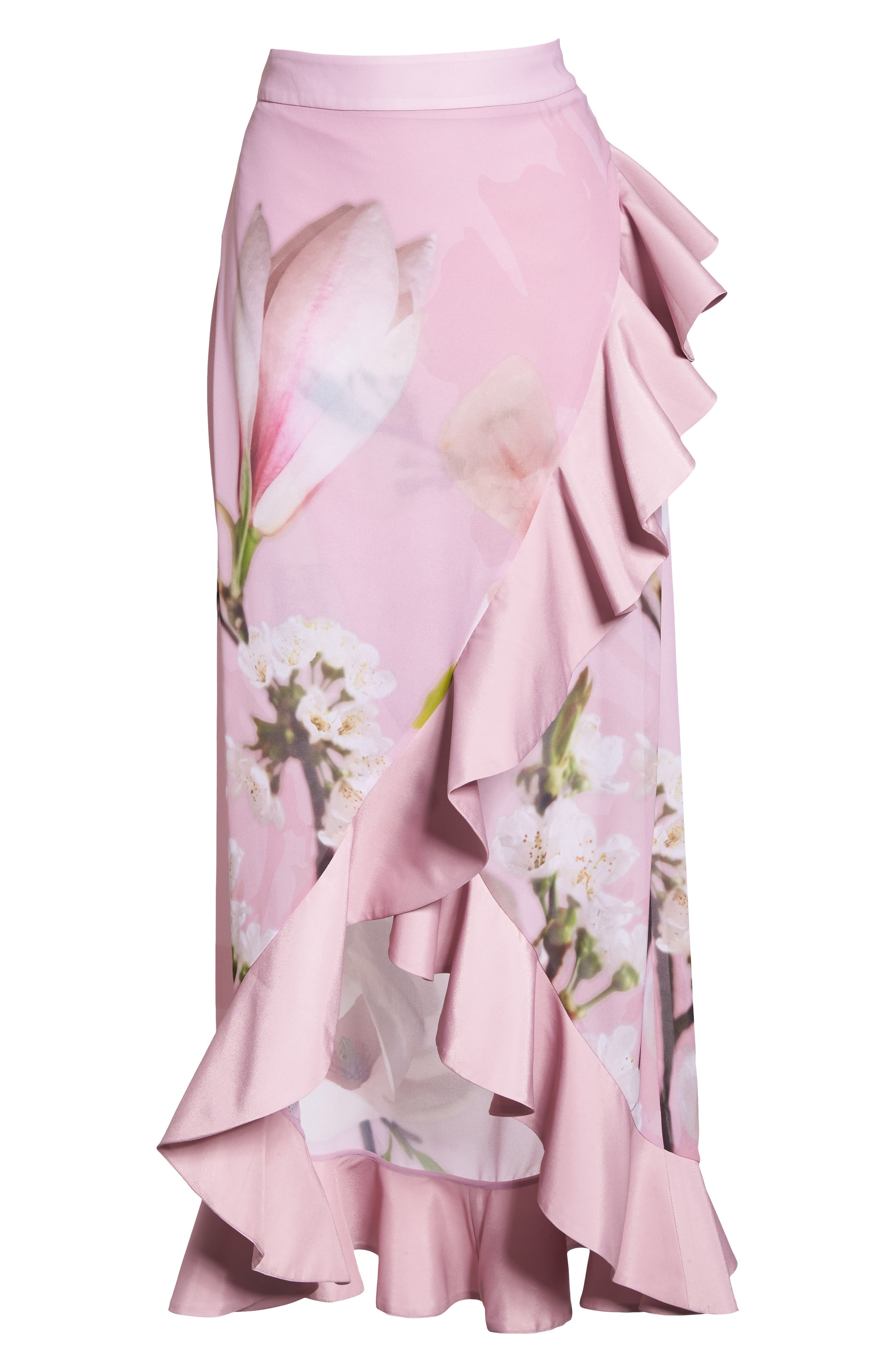 Harmony Cover-Up Skirt,                             Alternate thumbnail 6, color,                             Dusky Pink