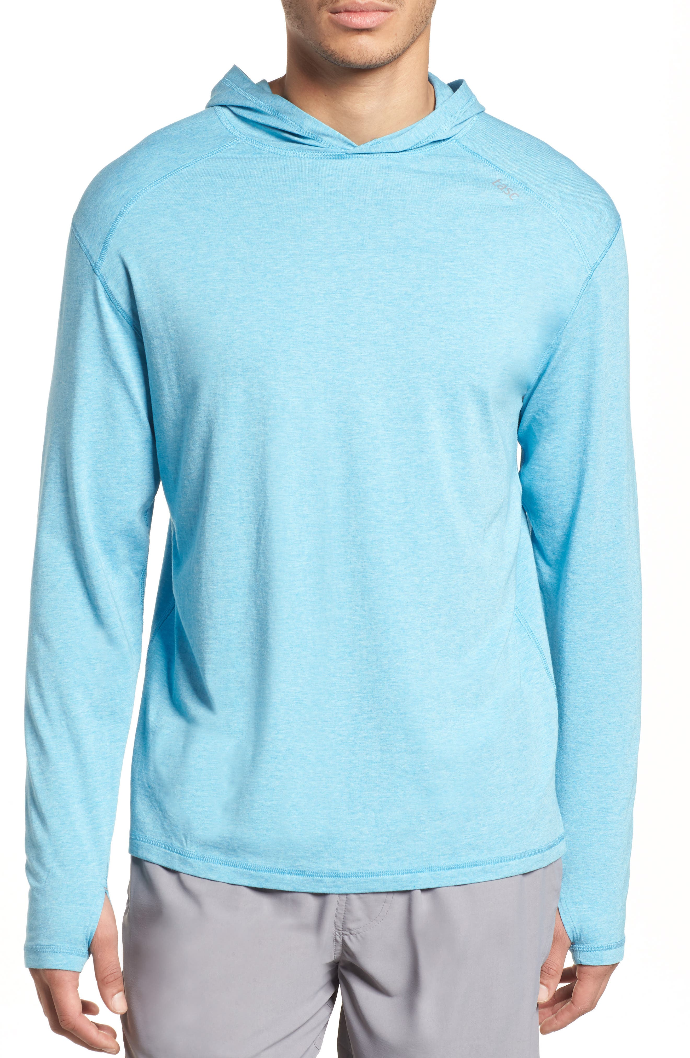 Carrollton Regular Fit Pullover Hoodie,                             Main thumbnail 1, color,                             Barracuda Heather