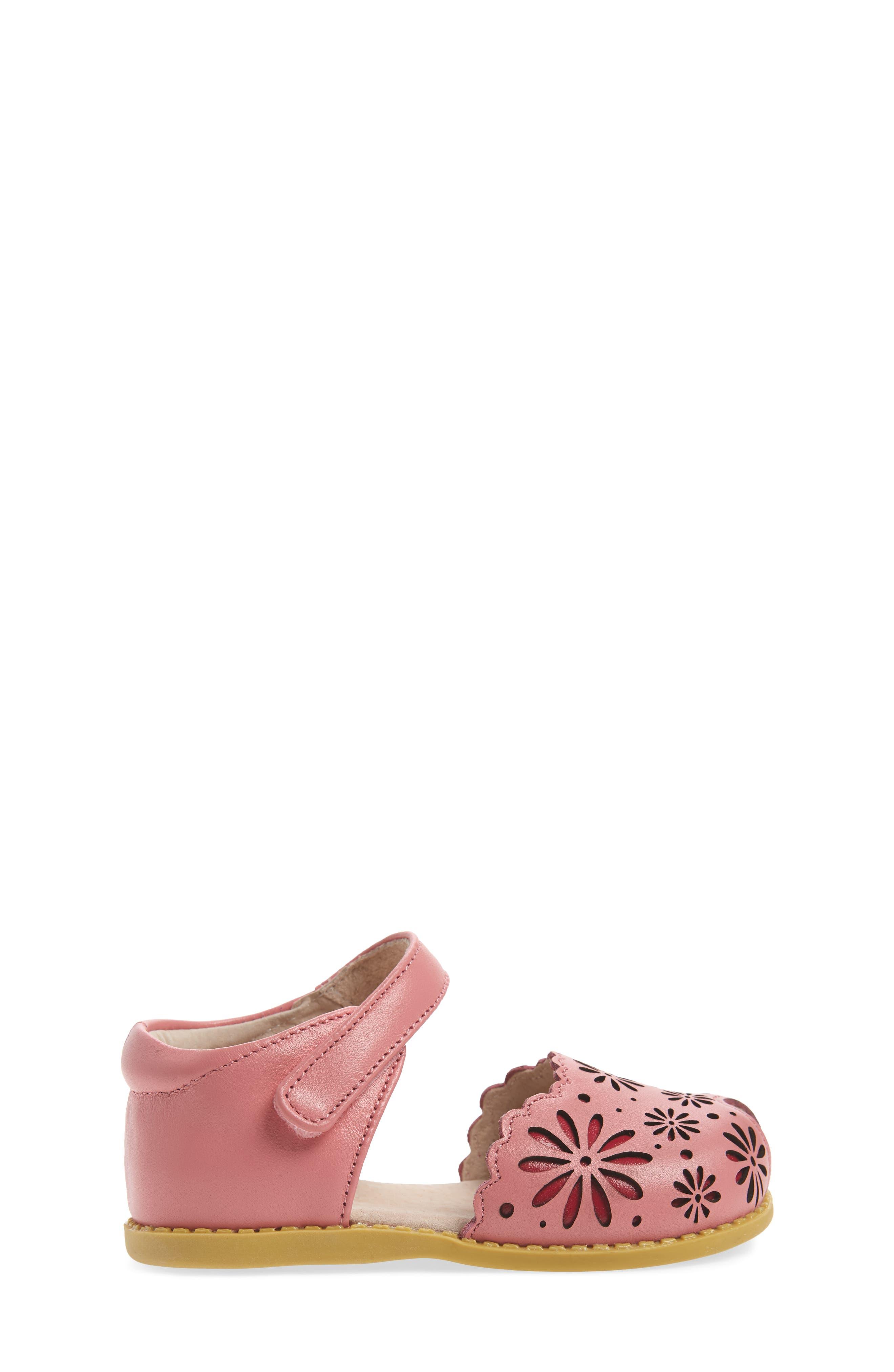 Carmen Glitter Sandal,                             Alternate thumbnail 3, color,                             Rosy Pink
