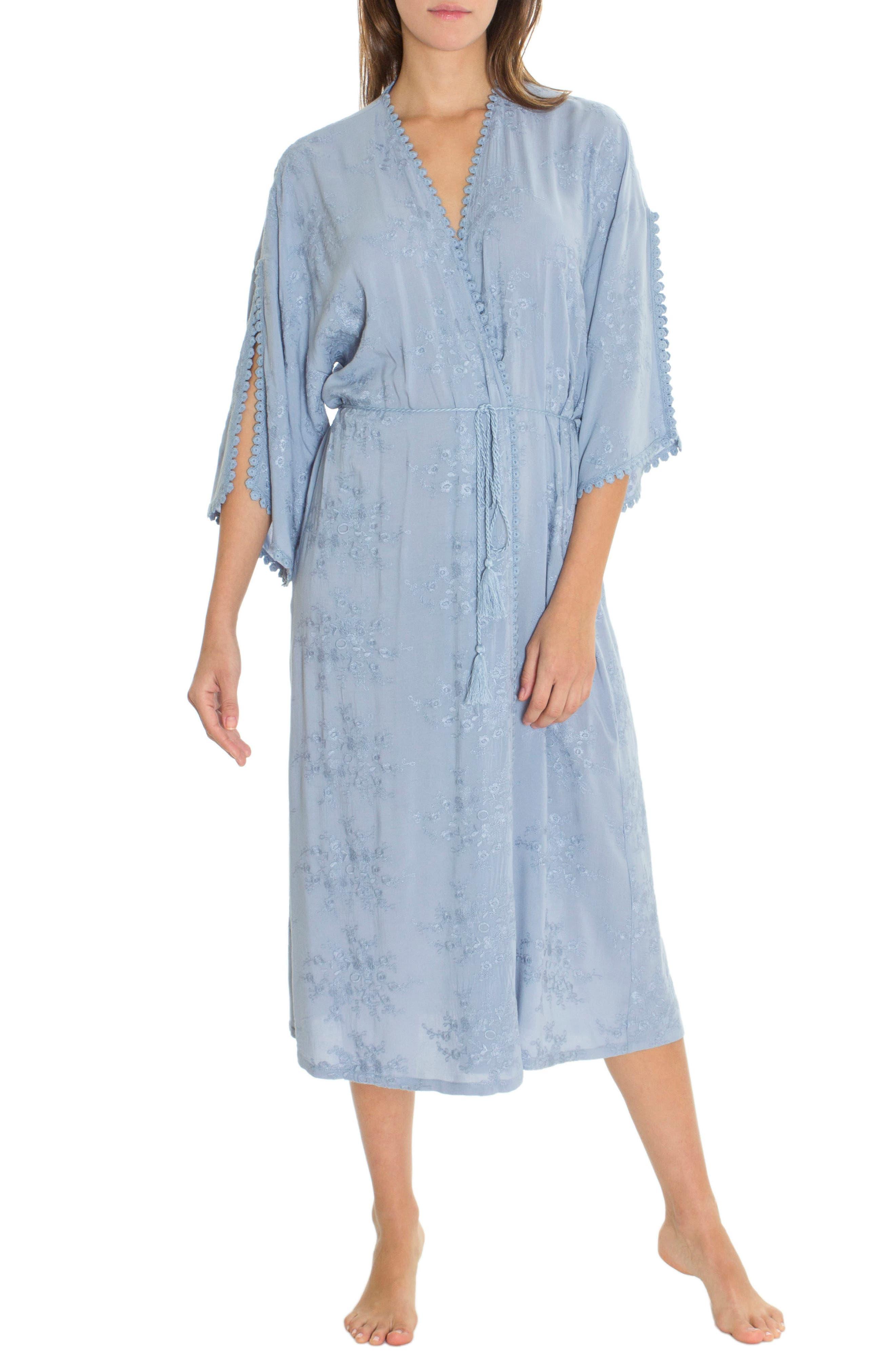 Robe,                         Main,                         color, Chambray Blue