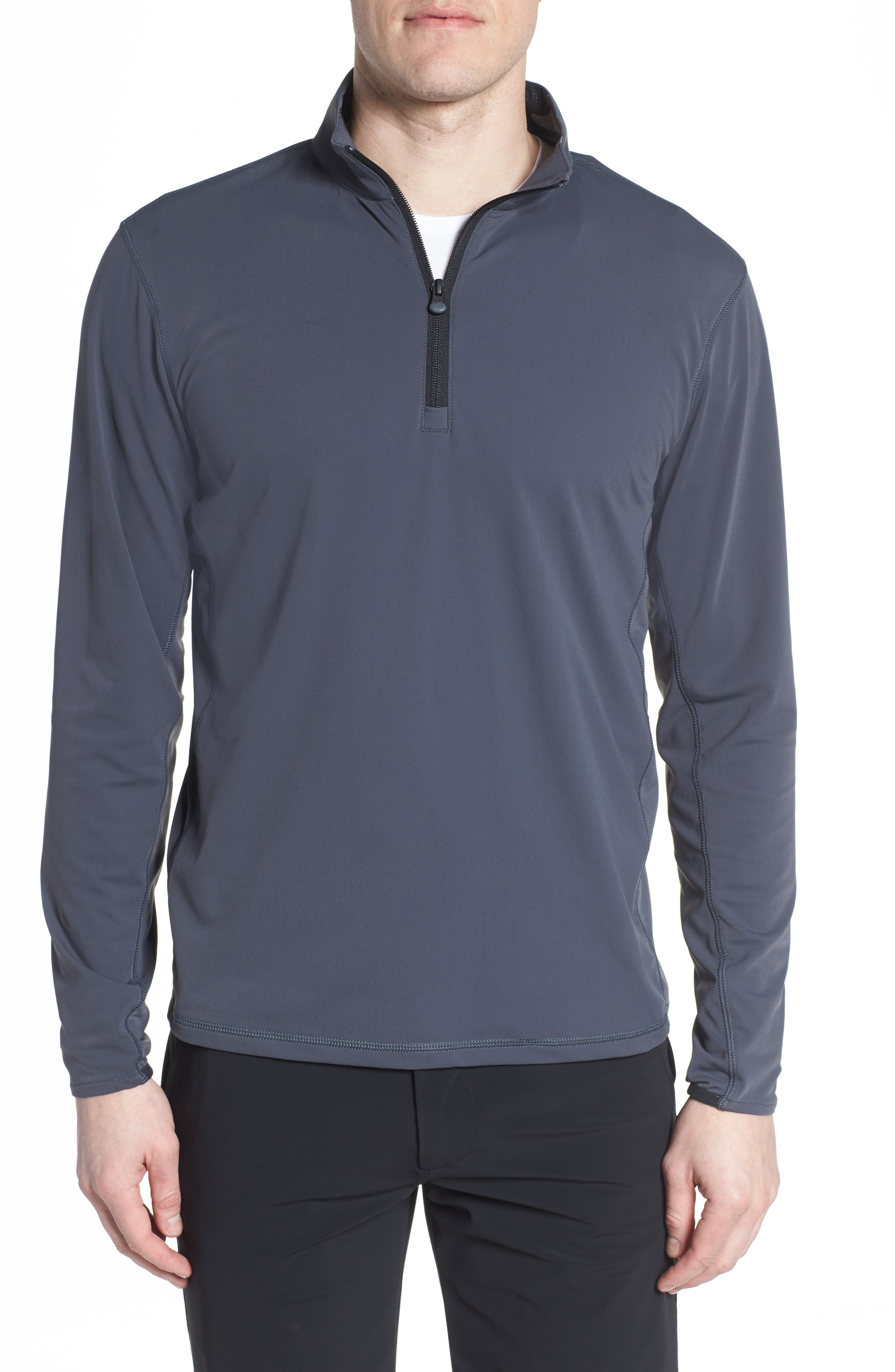 Tate Quarter Zip Pullover,                         Main,                         color, Stingray