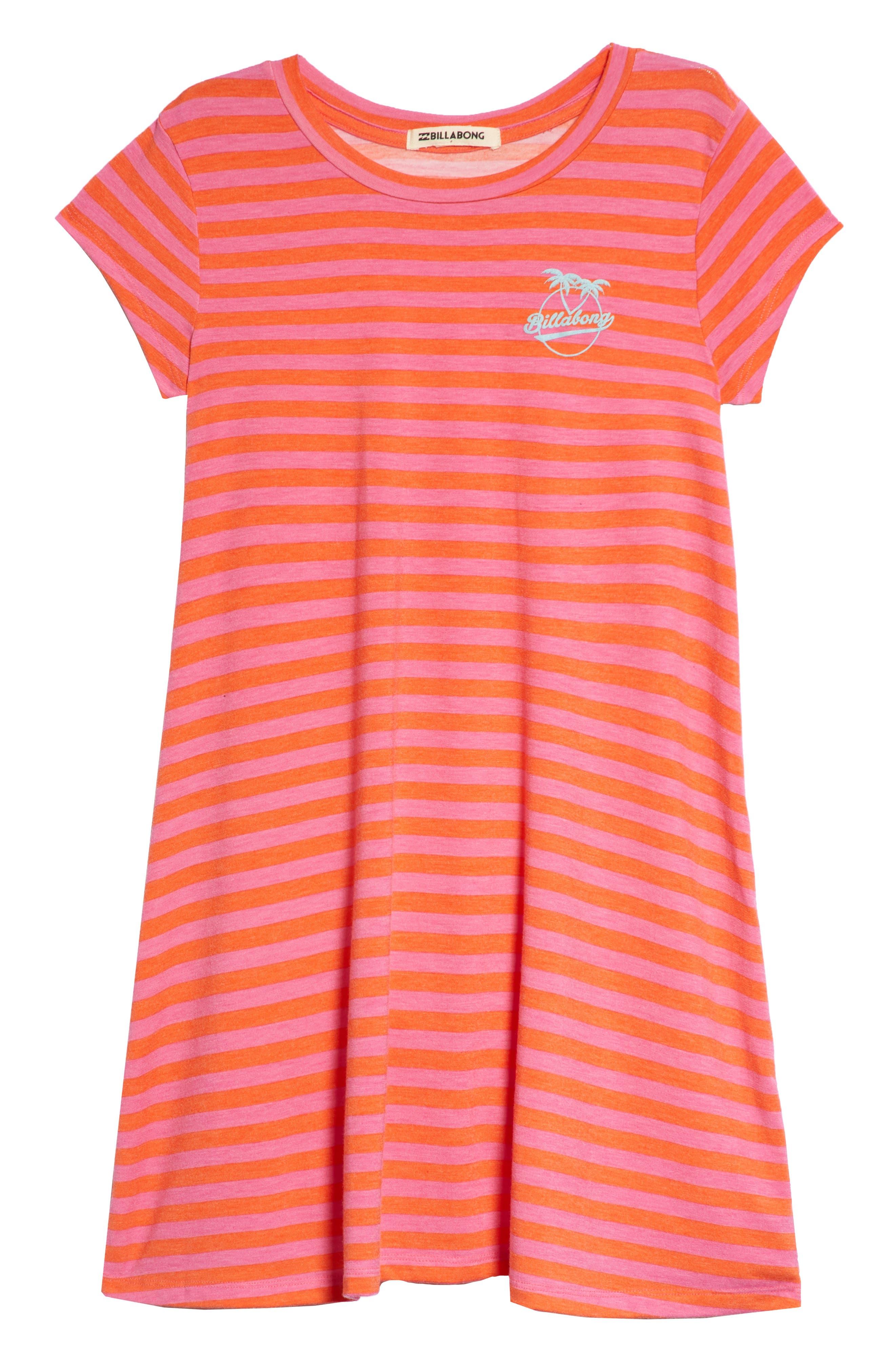 Billabong Field Dreams Stripe Dress (Little Girls & Big Girls)