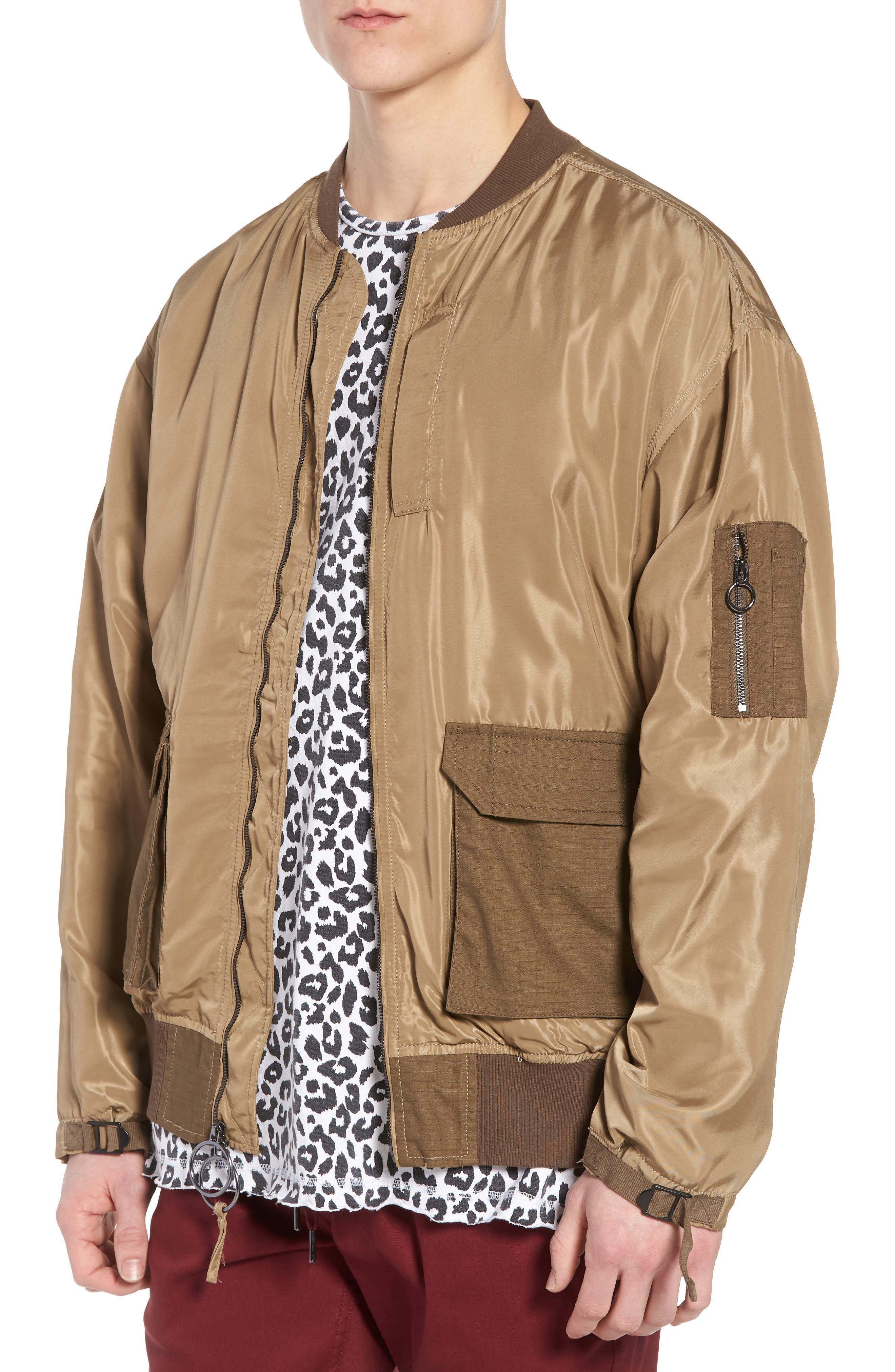 Noah Bomber Jacket,                         Main,                         color, Olive