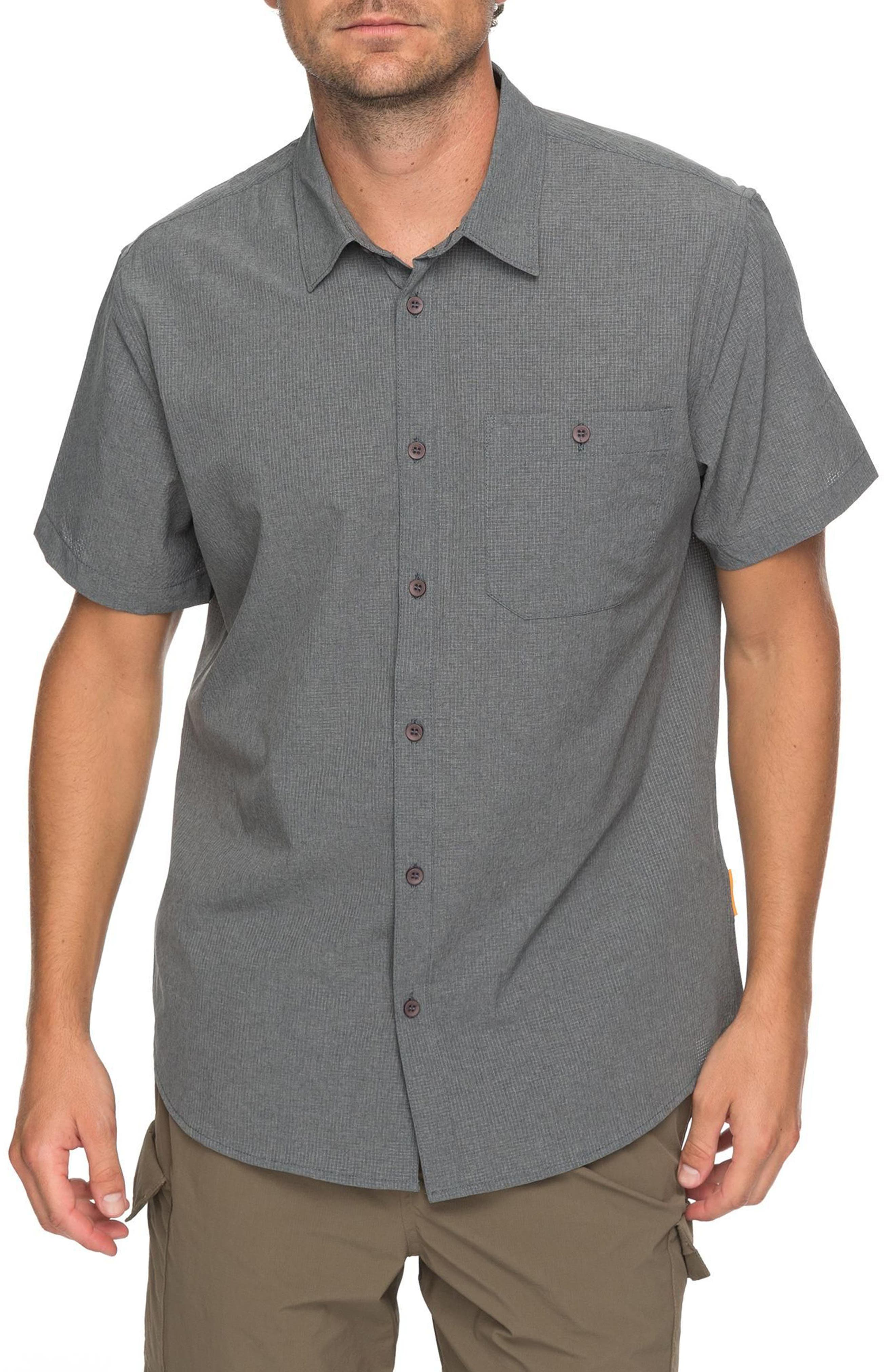 Technical Shirt,                         Main,                         color, Charcoal Heather