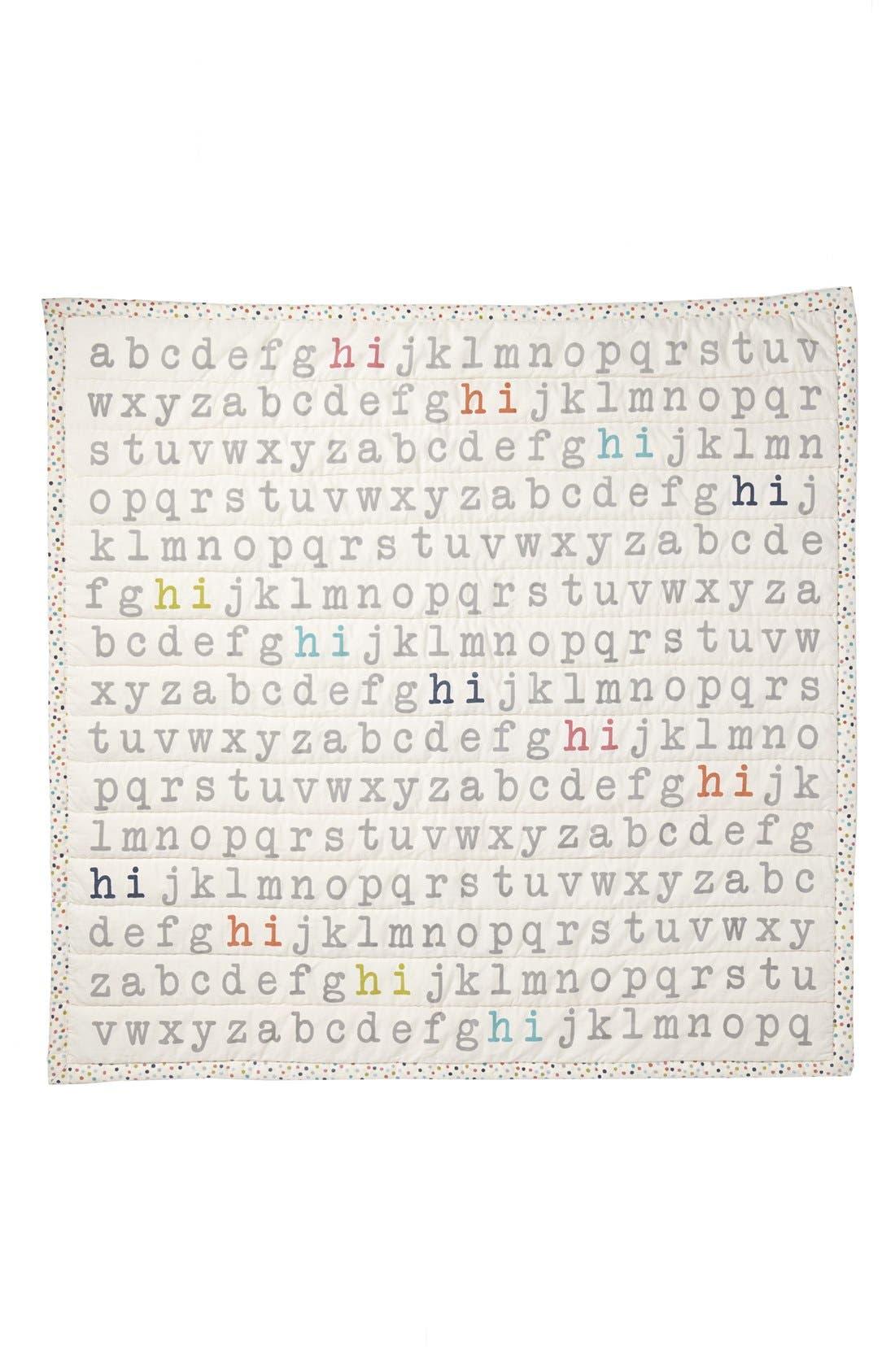 Alternate Image 2  - Petit Pehr 'Hi' Baby Blanket