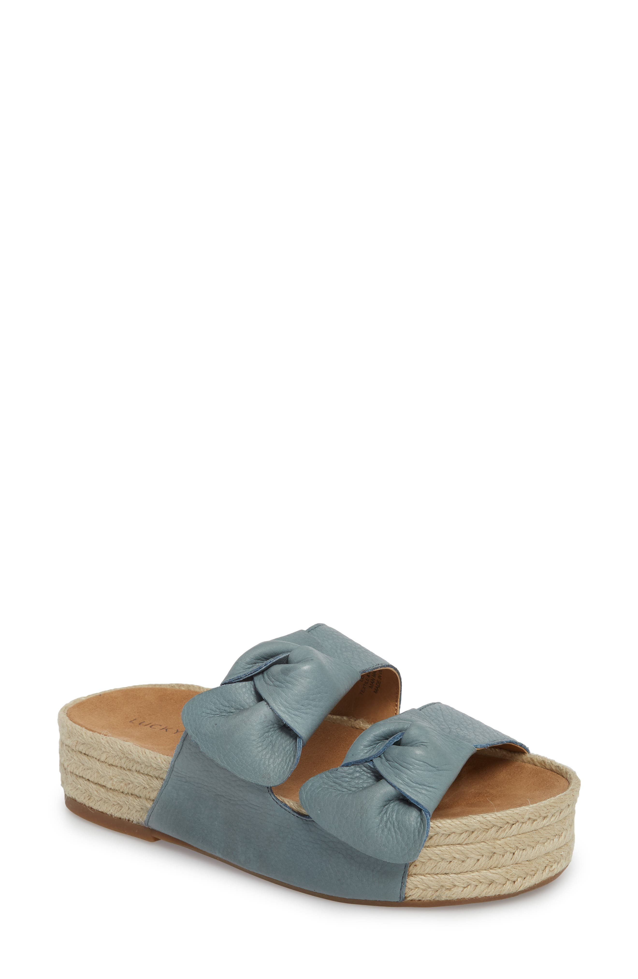 Izbremma Platform Espadrille Sandal,                         Main,                         color, Infinity Leather