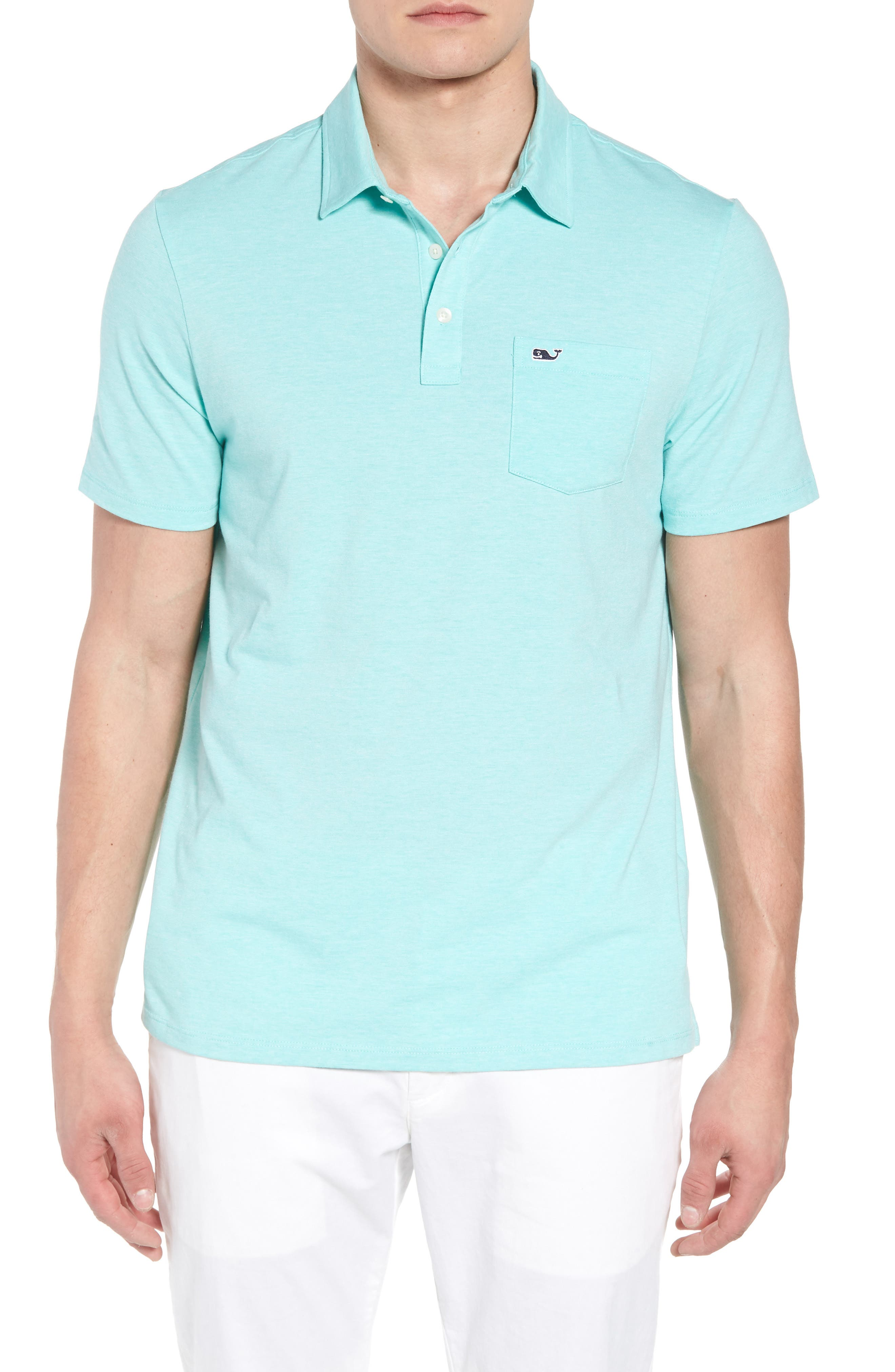 vineyard vines Edgartown Solid Stretch Polo