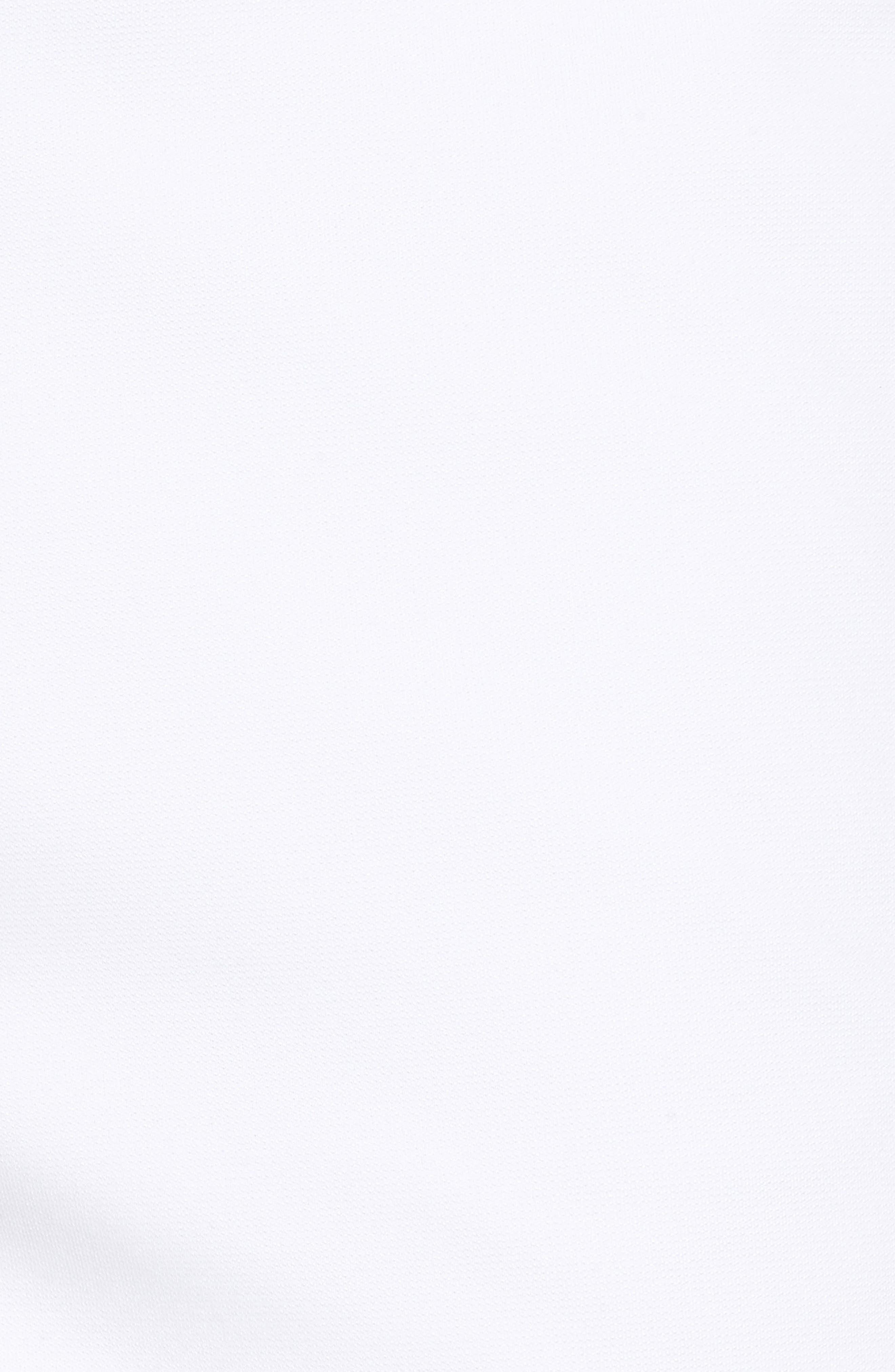Trim Fit Tech Chino Shorts,                             Alternate thumbnail 5, color,                             White