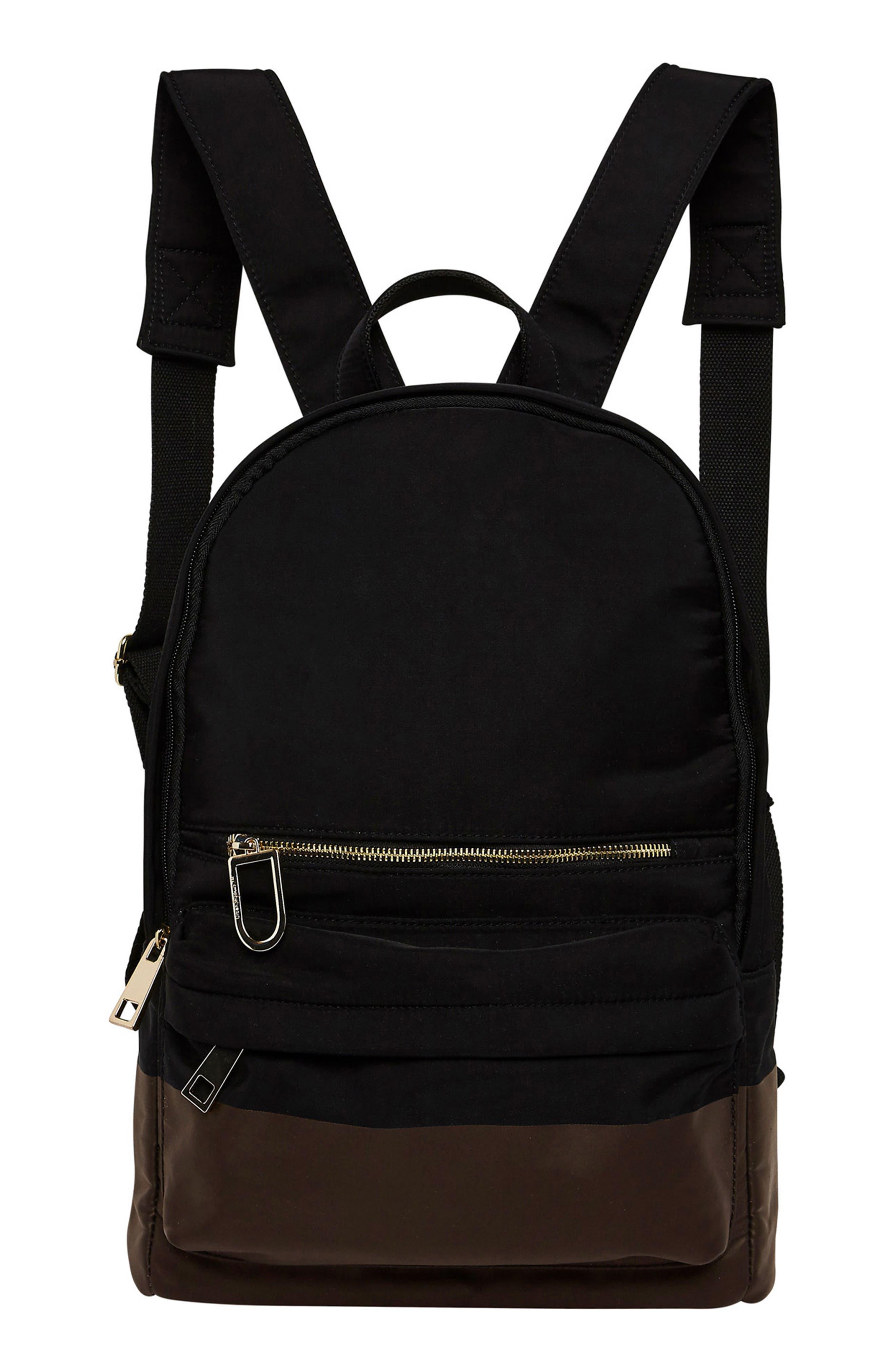 Alternate Image 1 Selected - Urban Originals Own Beat Vegan Leather Backpack