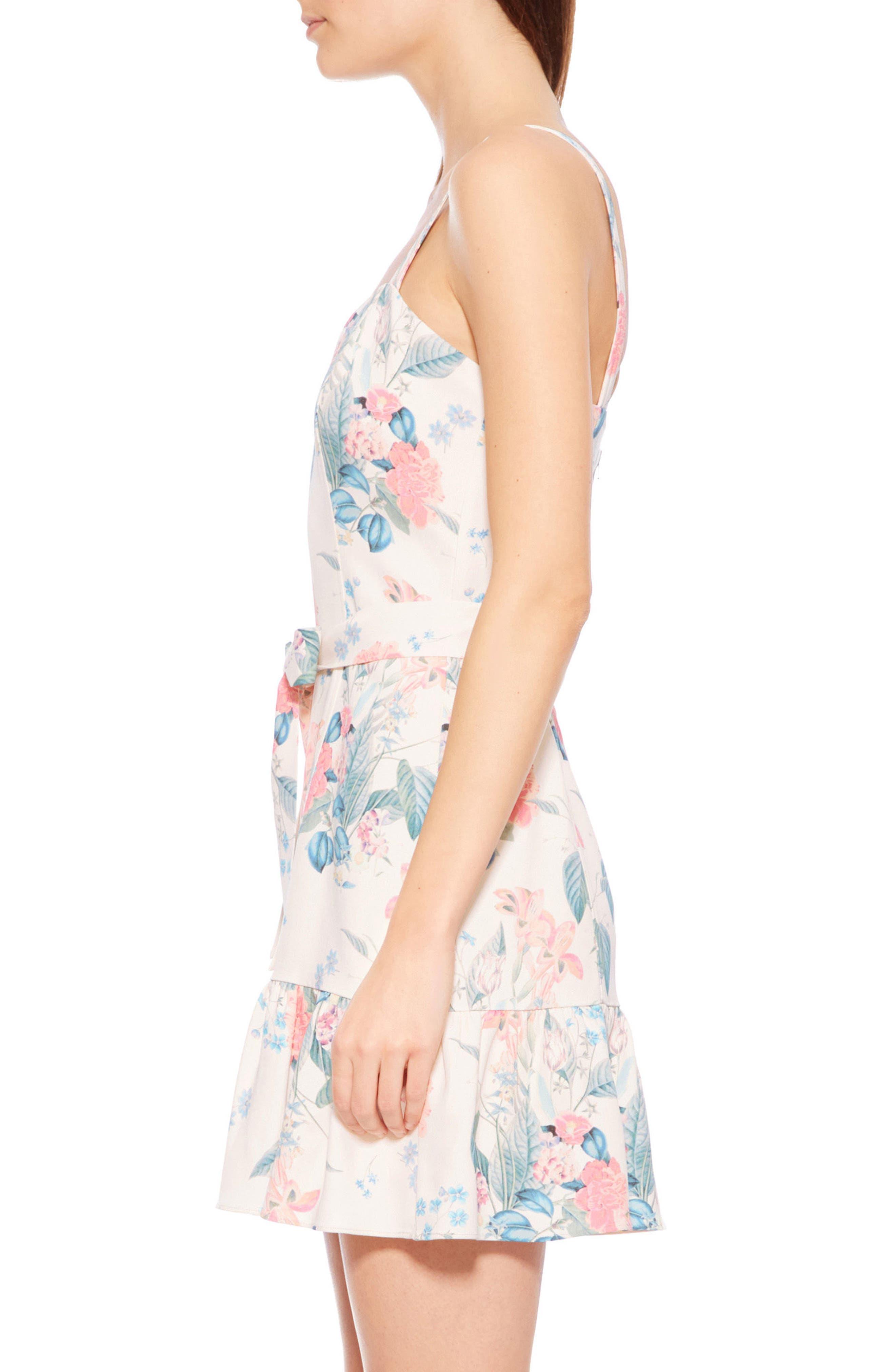 Yuna Dress,                             Alternate thumbnail 4, color,                             Mellow Meadow