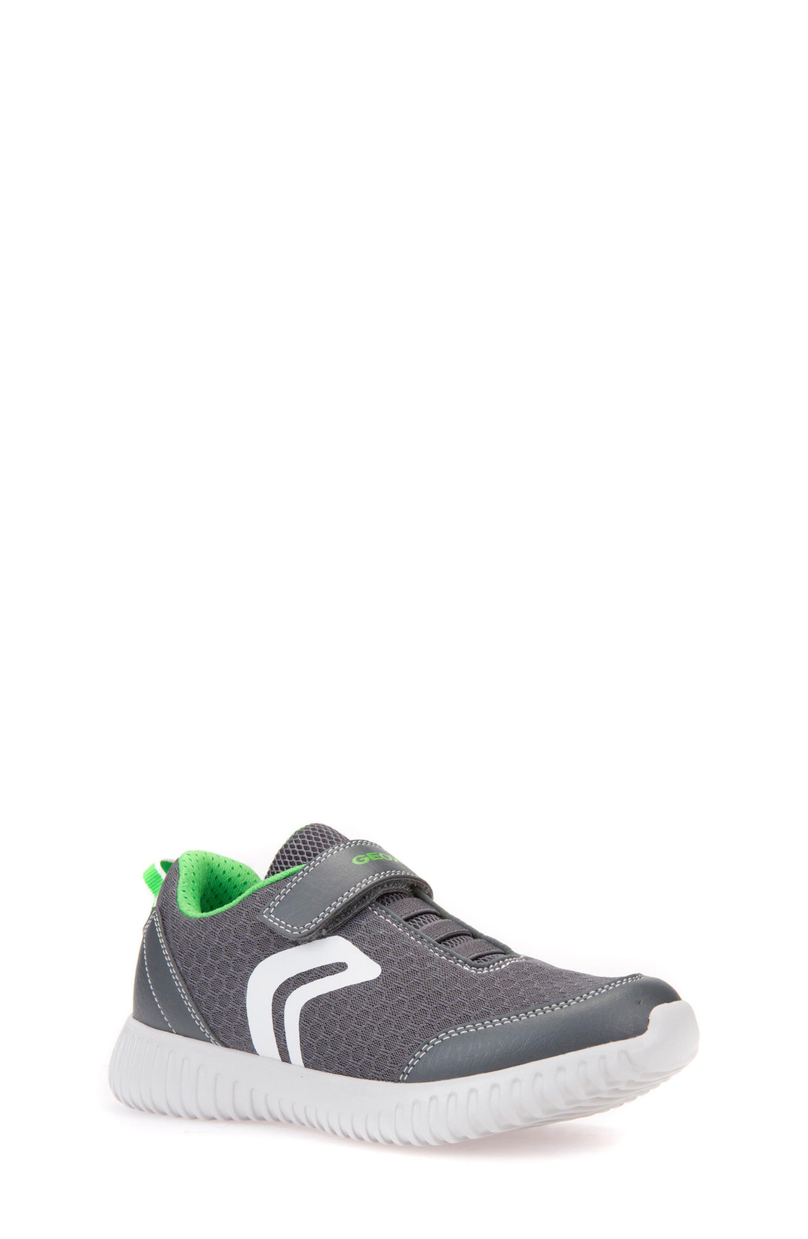 Alternate Image 1 Selected - Geox Waviness Sneaker (Toddler, Little Kid & Big Kid)
