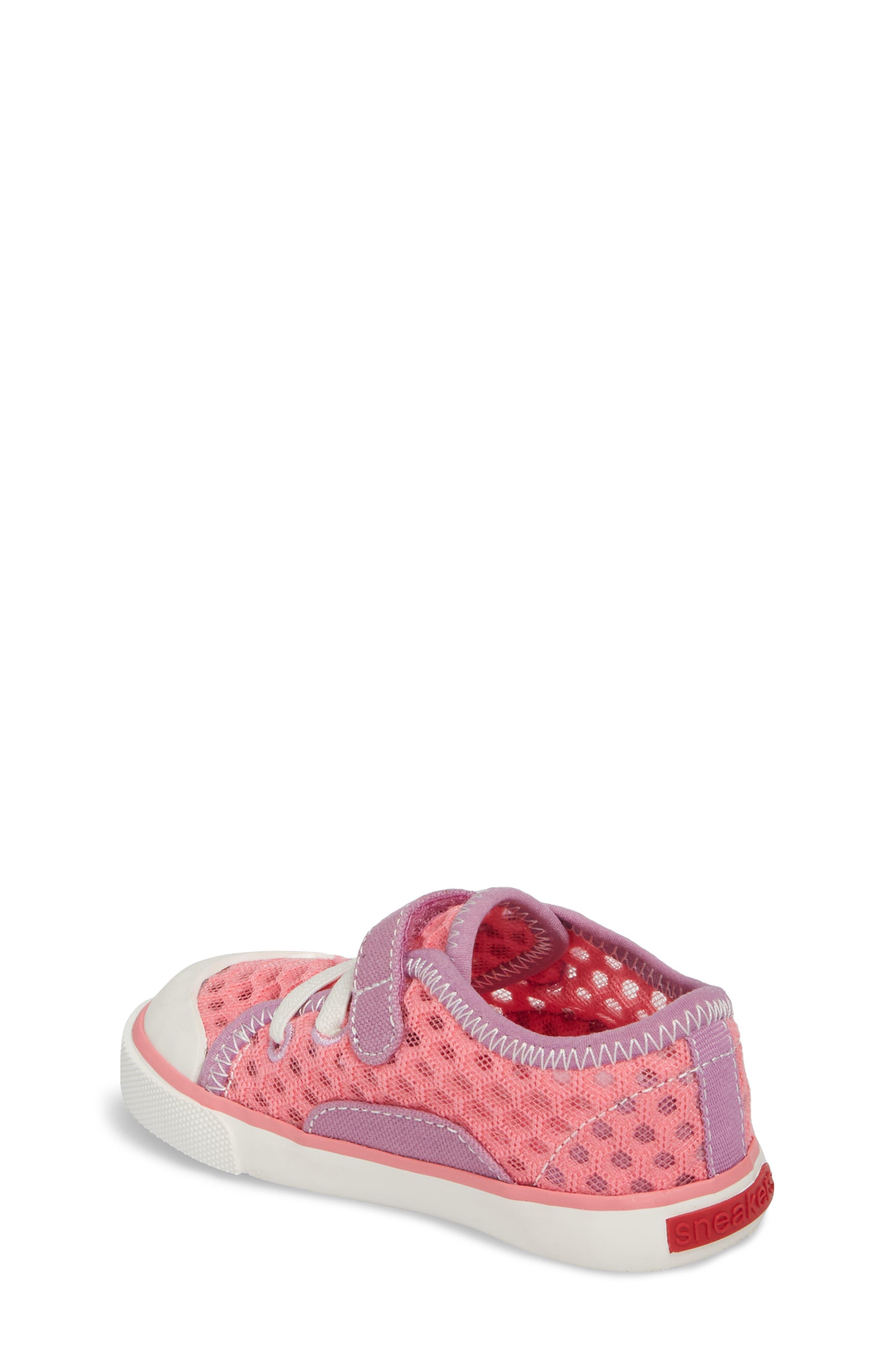 Saylor Sneaker,                             Alternate thumbnail 2, color,                             Hot Pink