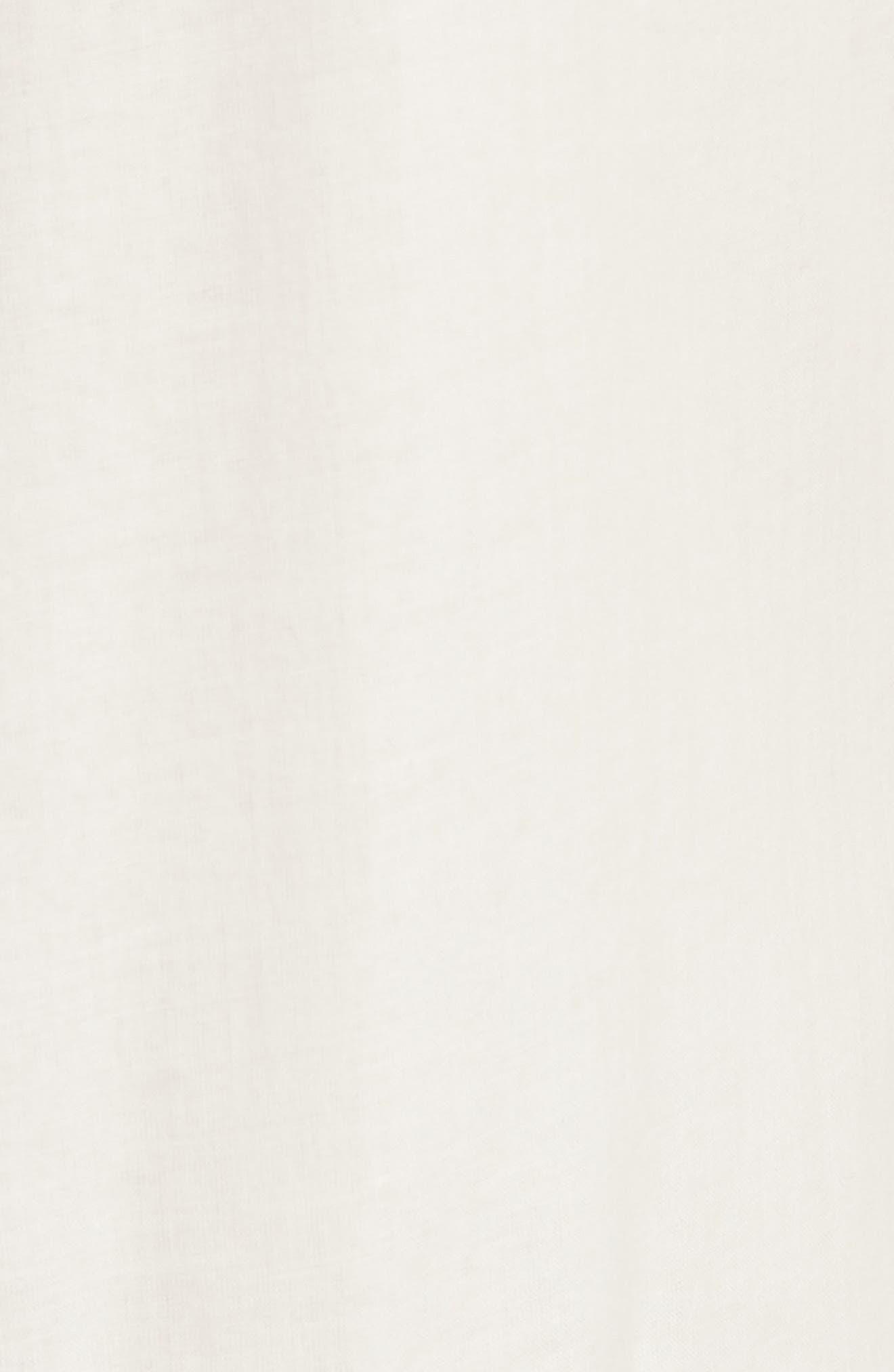 Adriana Sleeveless Shirtdress,                             Alternate thumbnail 5, color,                             New Ivory