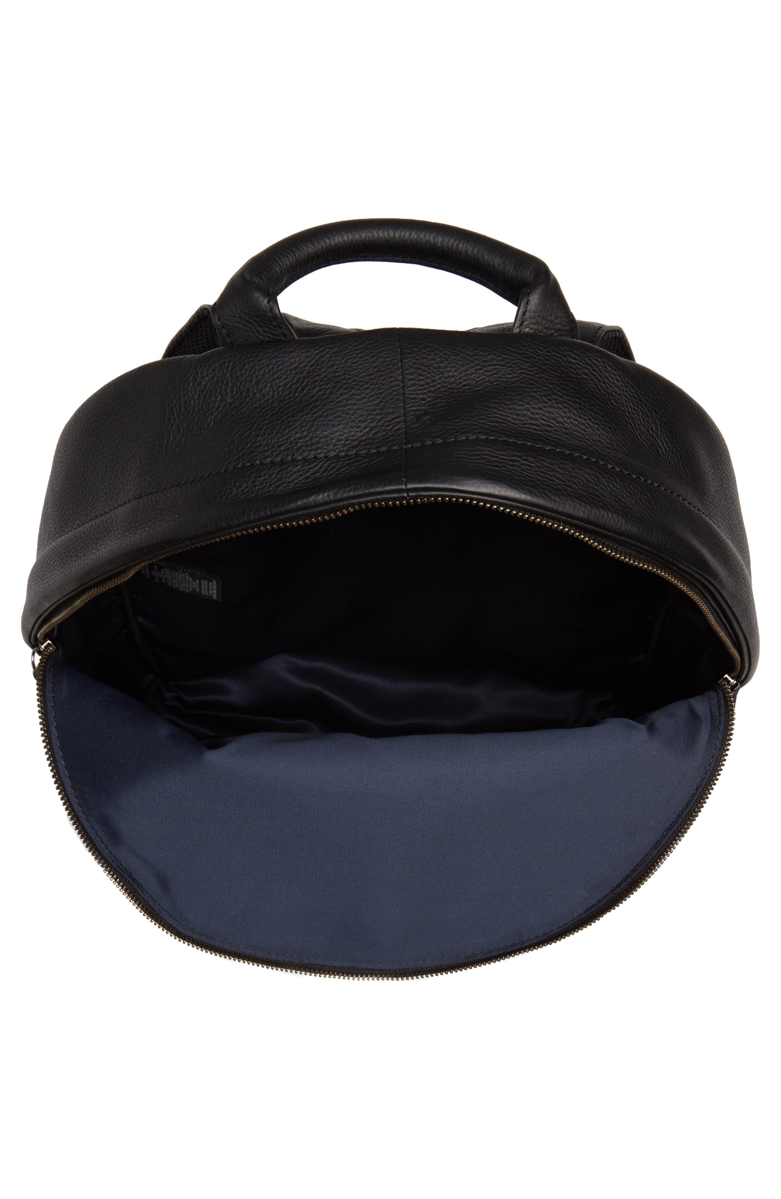 Huntman Stripe Backpack,                             Alternate thumbnail 4, color,                             Black