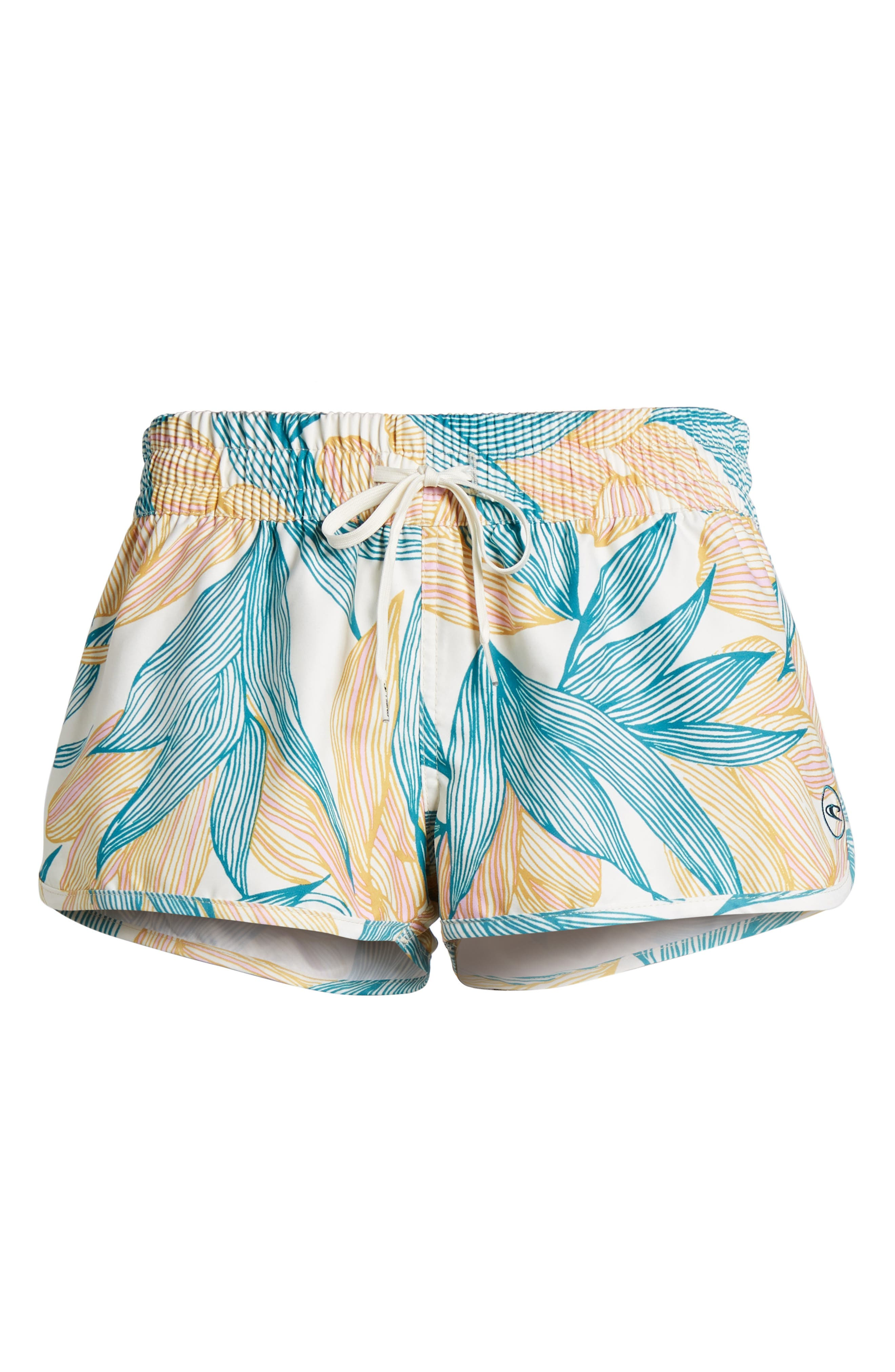 Bayside 2 Dynasuede Board Shorts,                             Alternate thumbnail 6, color,                             Island Turquoise