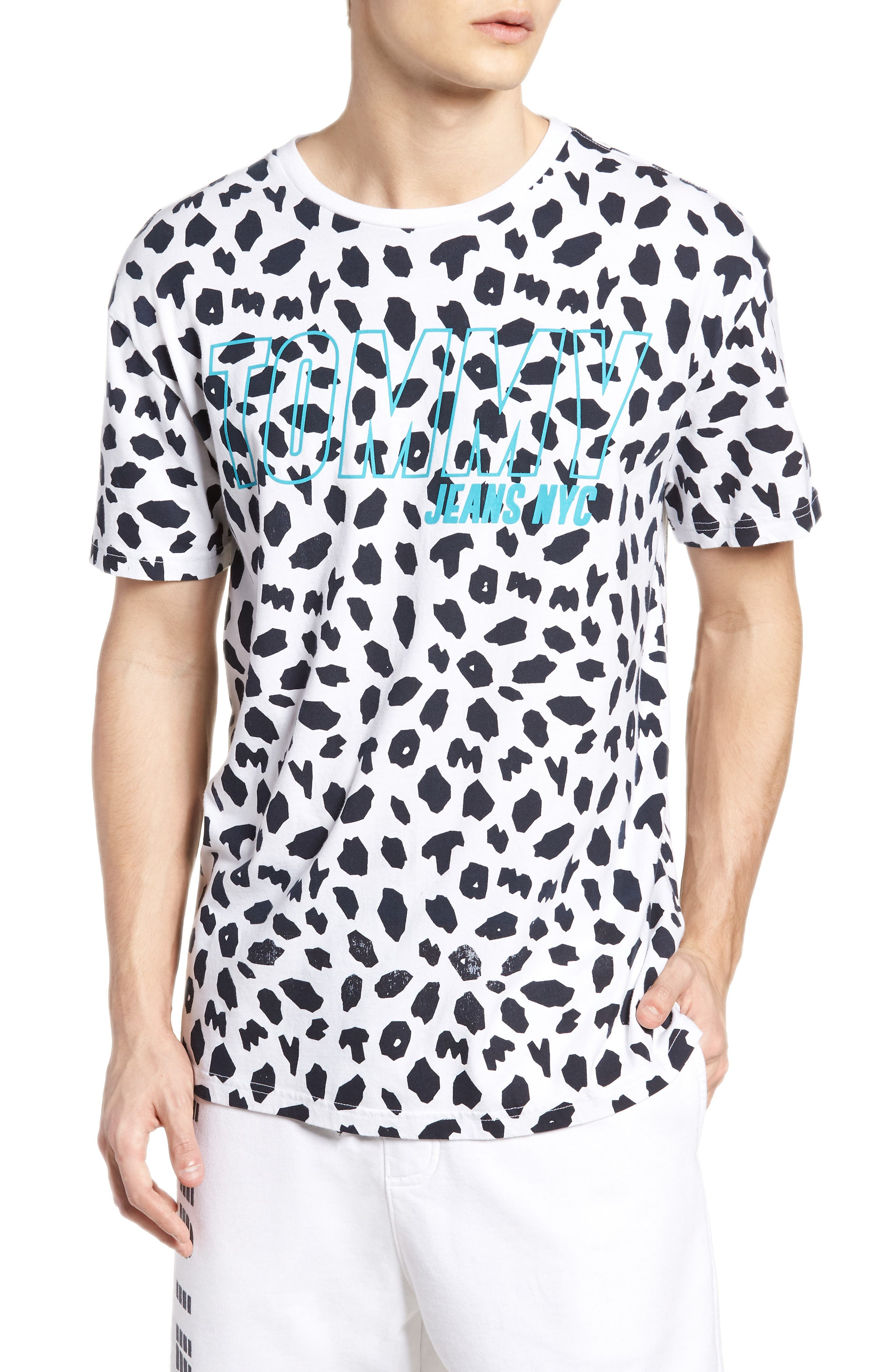 TOMMY JEANS Animal Print T-Shirt