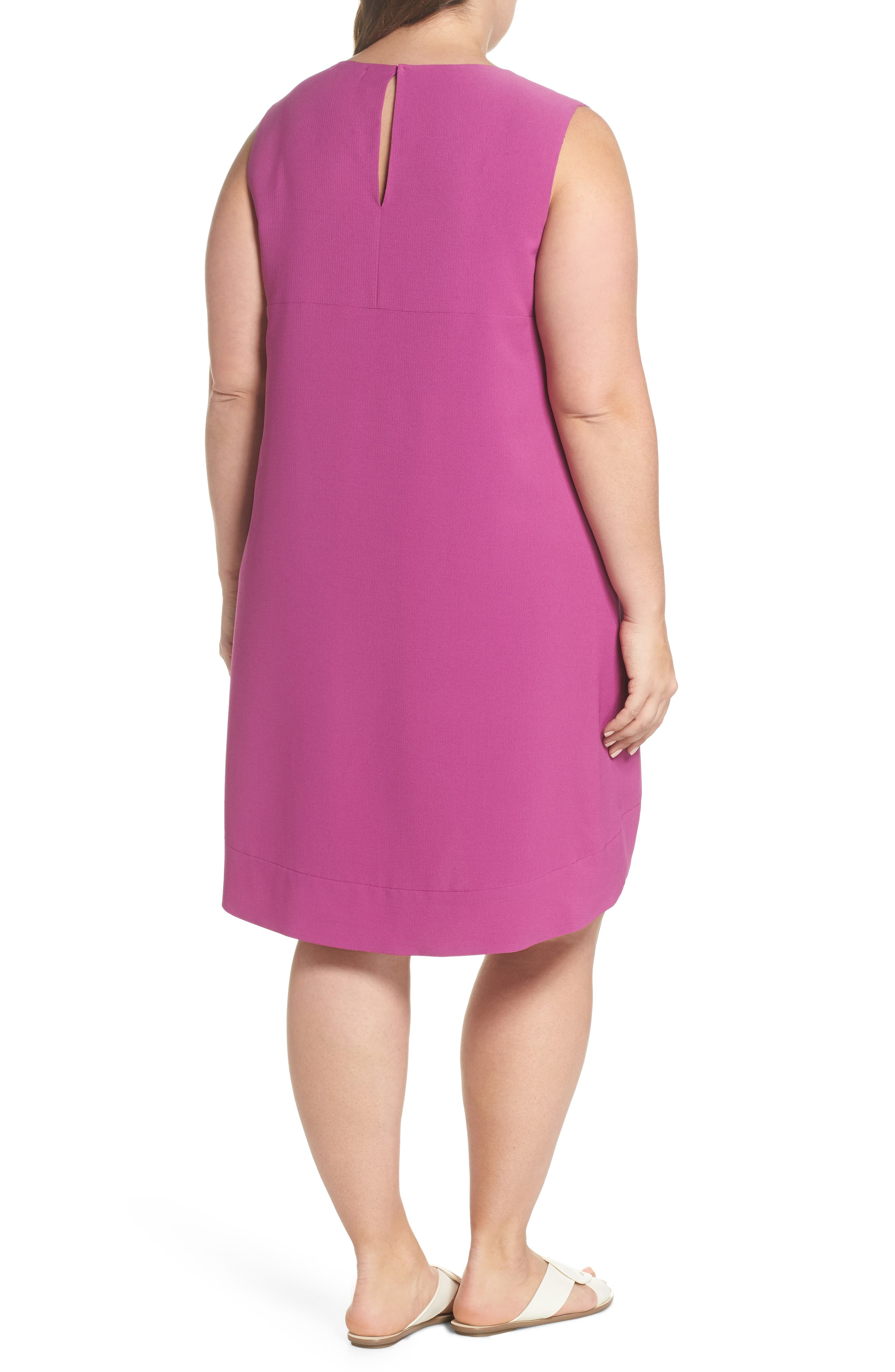 x Living in Yellow Becca Tank Dress,                             Alternate thumbnail 3, color,                             Deep Violet