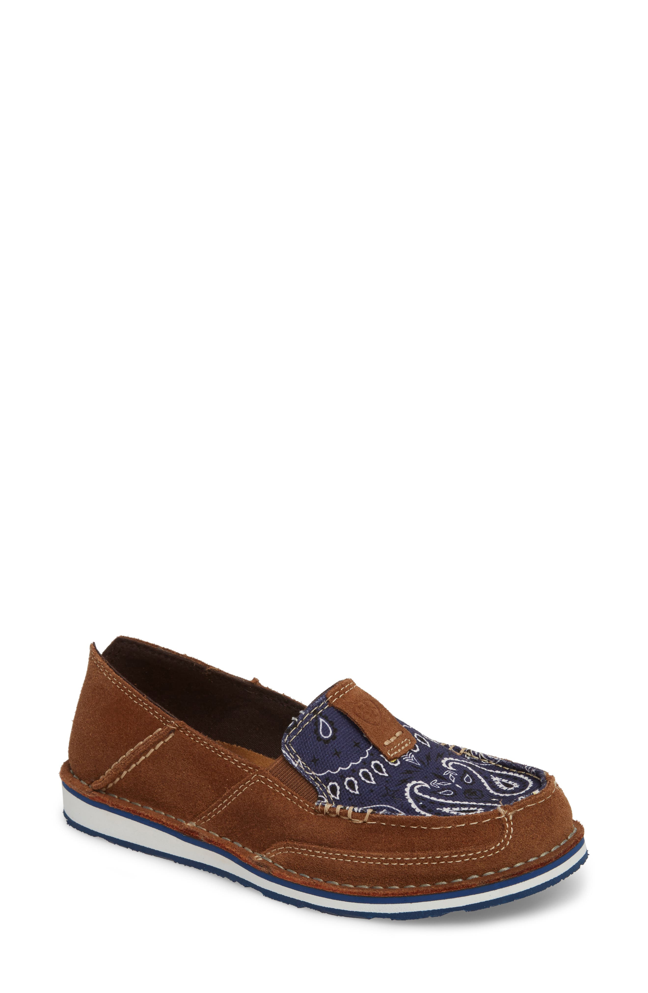Cruiser Slip-On Loafer,                             Main thumbnail 1, color,                             Toffee Leather