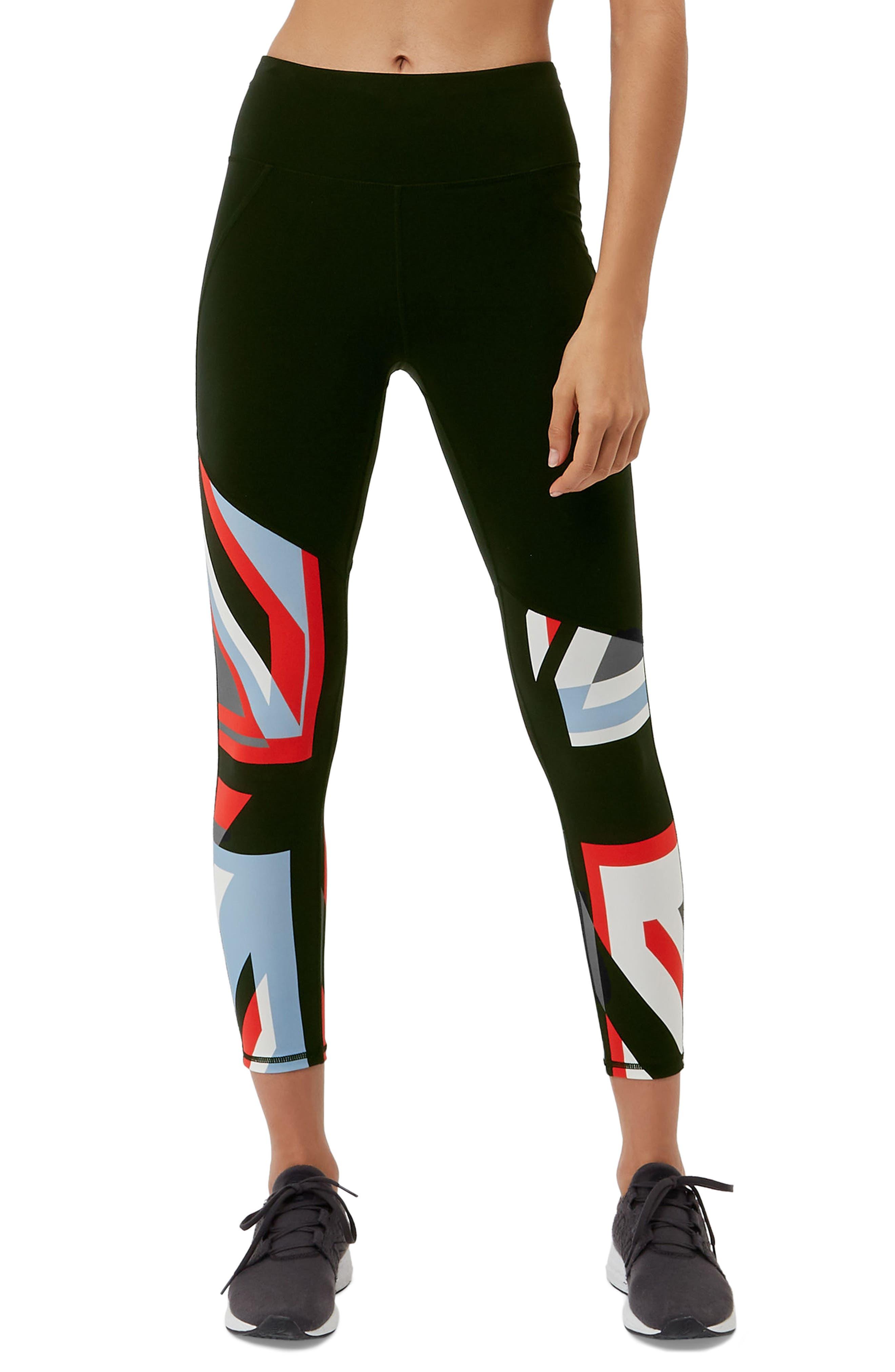 Power Union Jack Ankle Leggings,                         Main,                         color, Union Jack