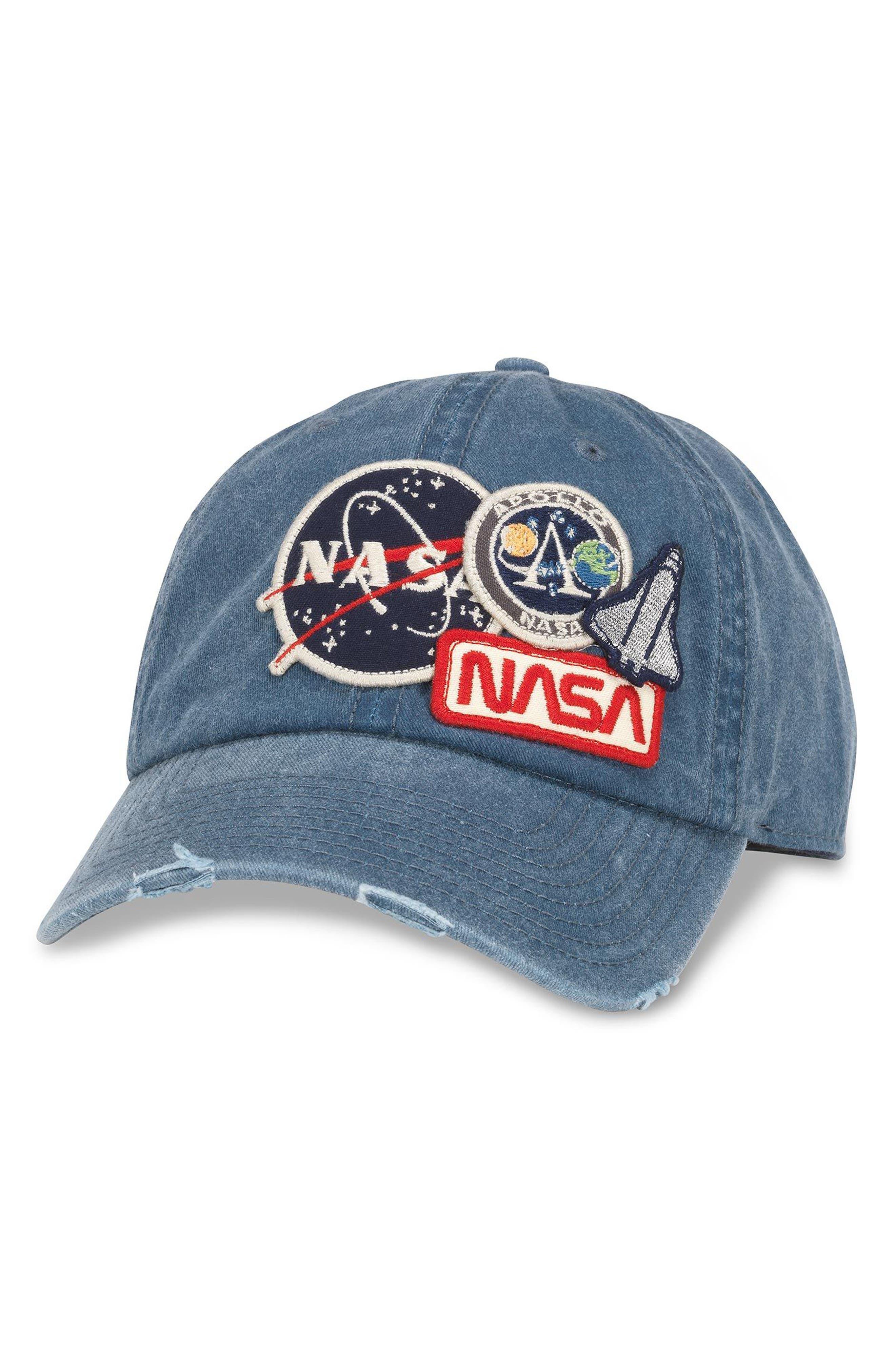 Iconic - NASA Ball Cap,                         Main,                         color, Navy