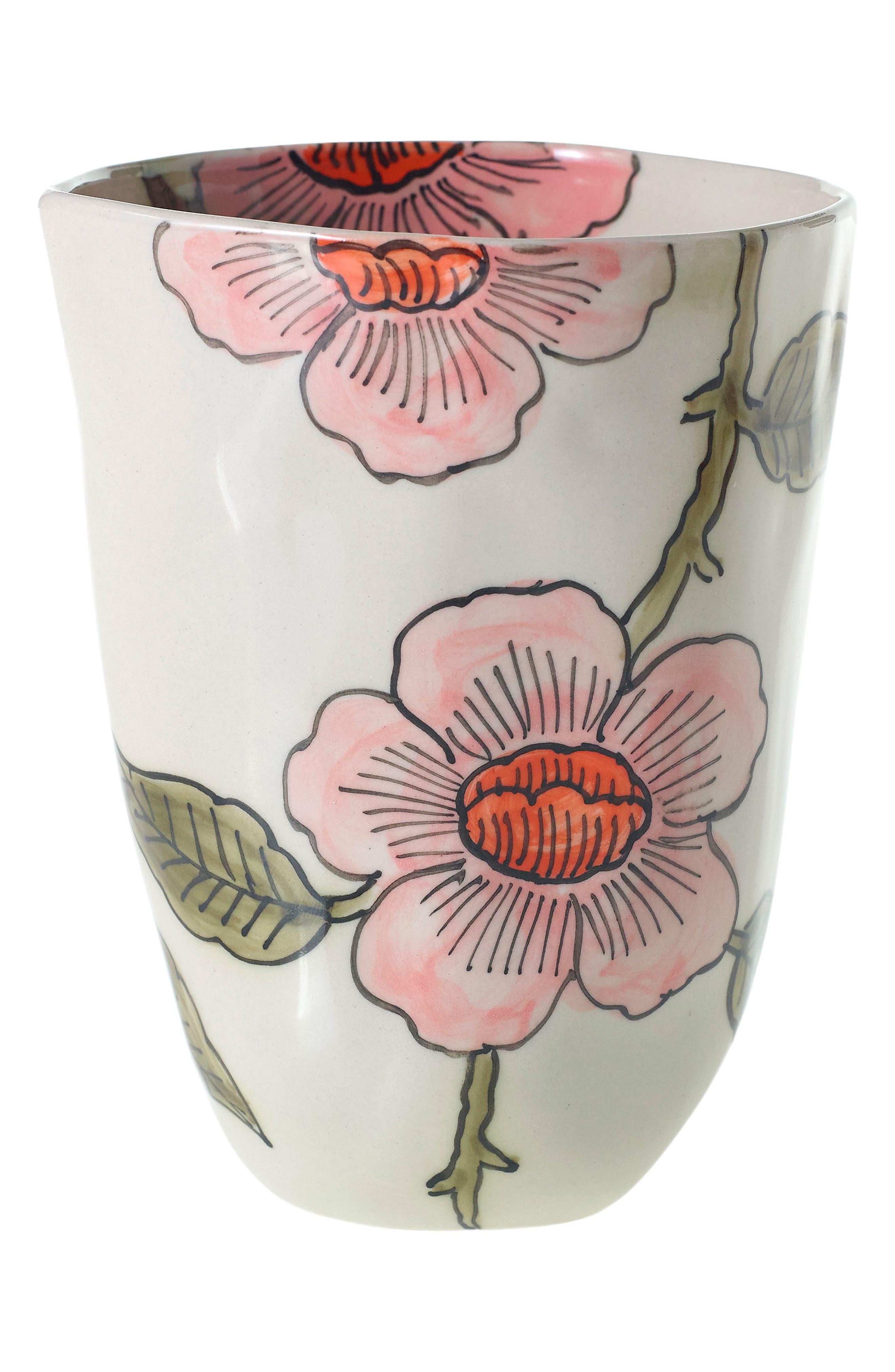 Little Daisy Vase,                             Main thumbnail 1, color,                             Pink