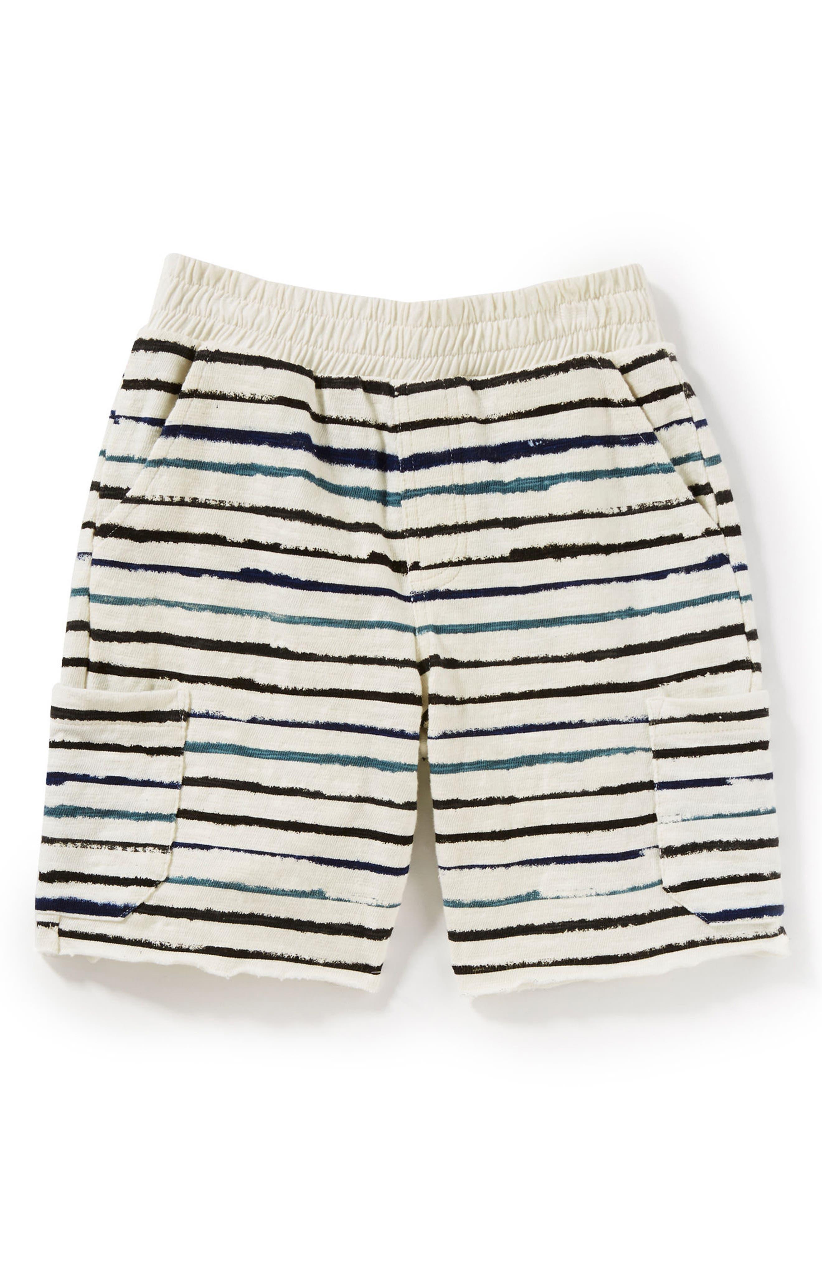 Peek Asher Stripe Shorts (Toddler Boys, Little Boys & Big Boys)