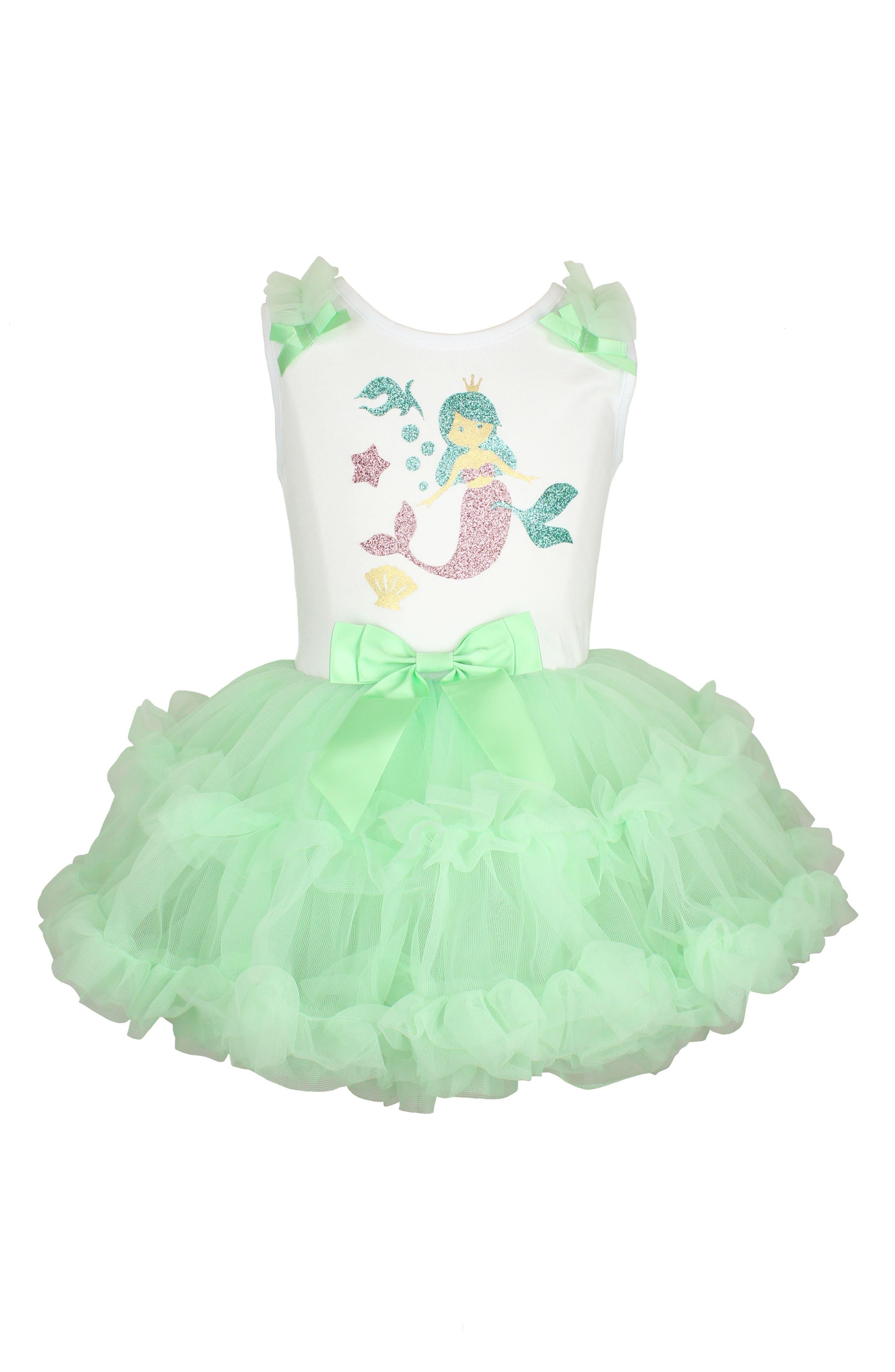 Popatu Mermaid Pettidress (Baby Girls)