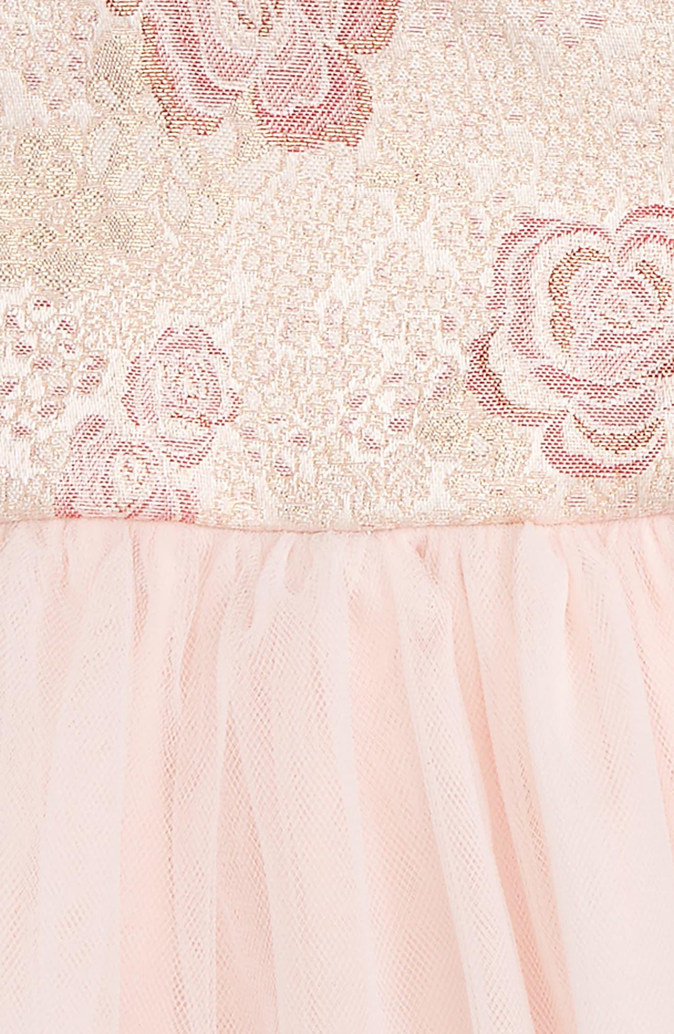 Jacquard Ballerina Party Dress,                             Alternate thumbnail 2, color,                             Light Pink