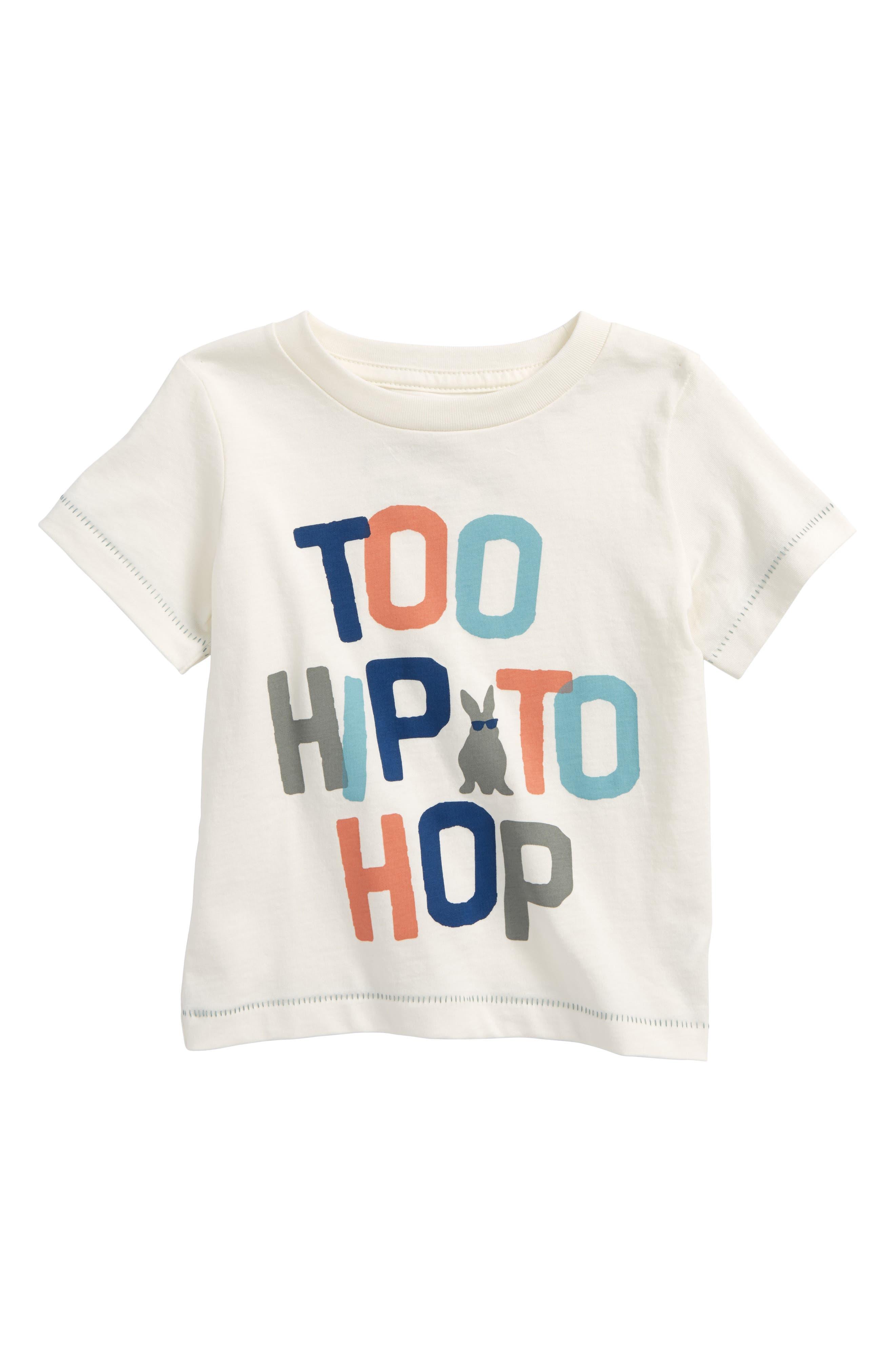 Peek Too Hip To Hop Graphic T-Shirt (Baby Boys)