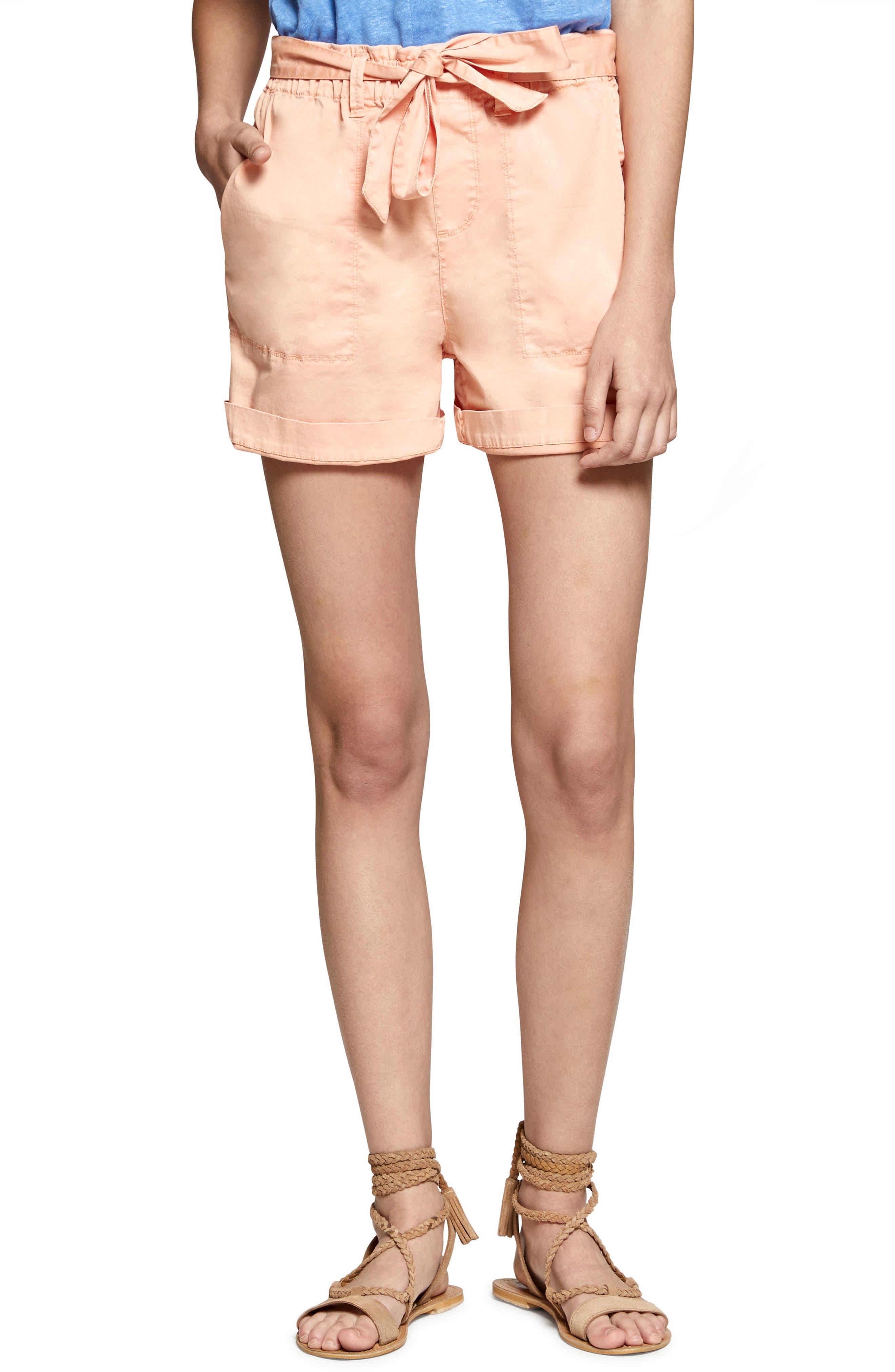 Daydreamer Shorts,                             Main thumbnail 1, color,                             Washed Papaya
