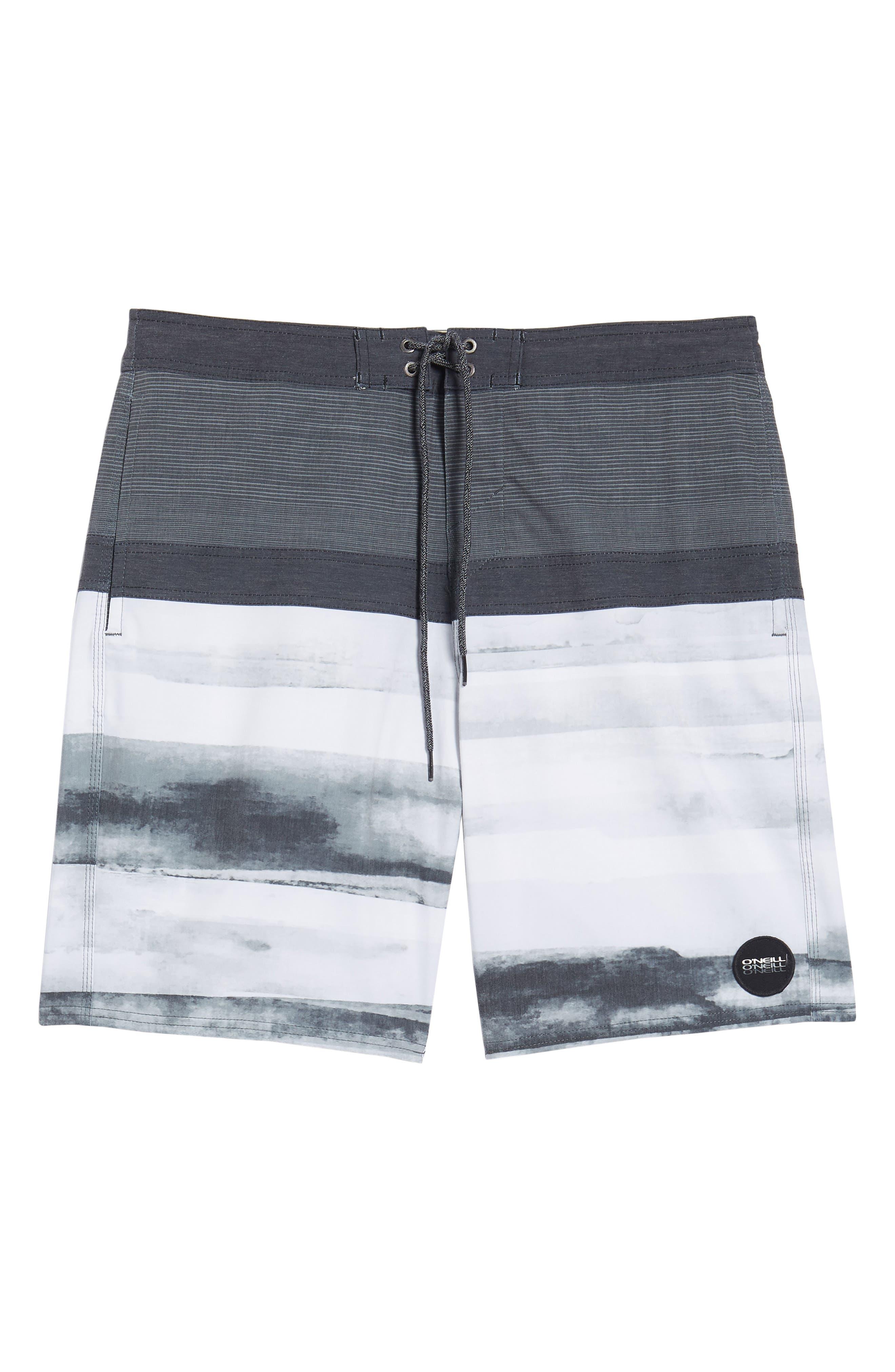 Breaker Cruzer Board Shorts,                             Alternate thumbnail 6, color,                             Black