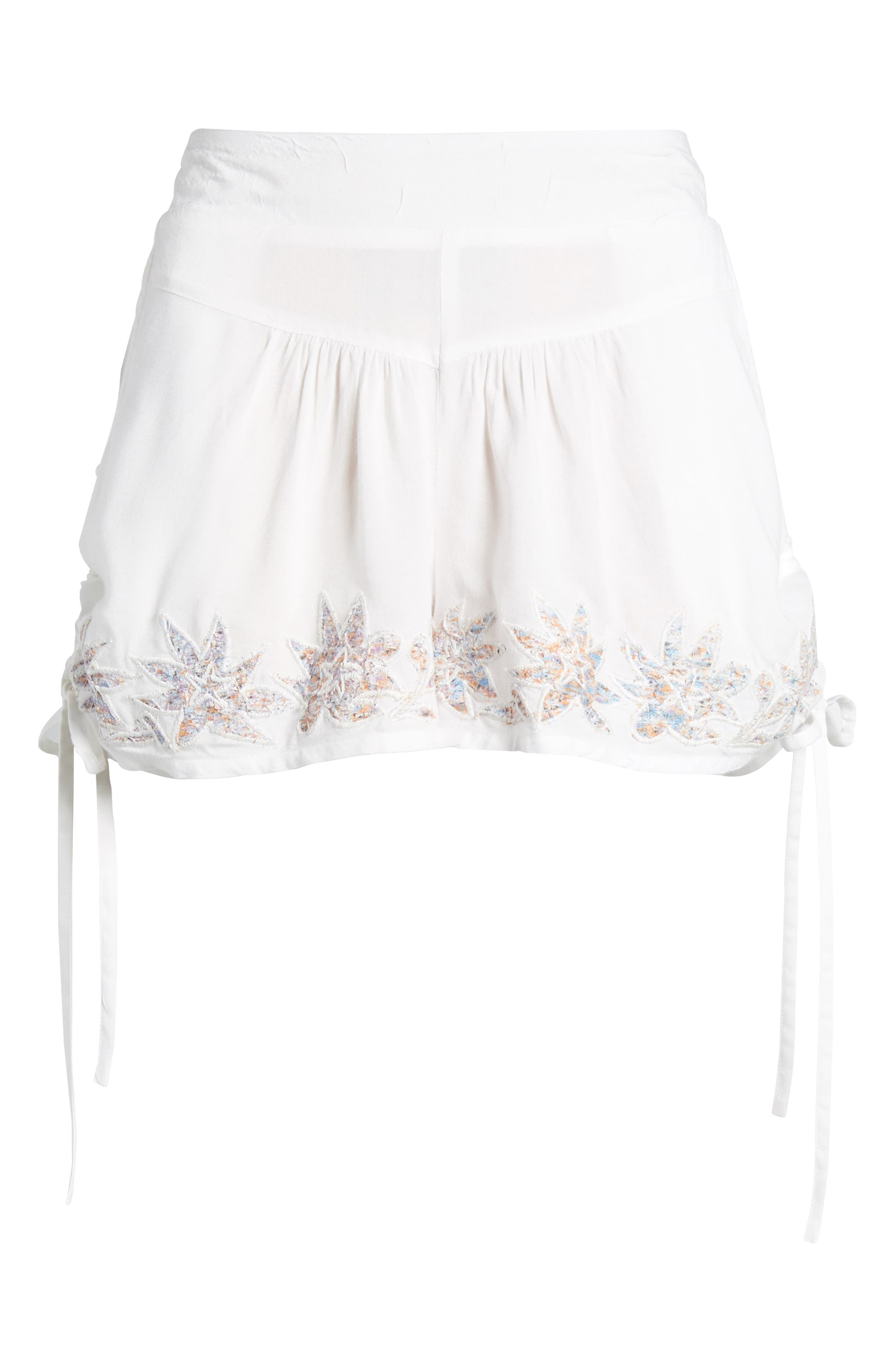 Alternate Image 7  - Raga Lotus Love Side Tie Shorts