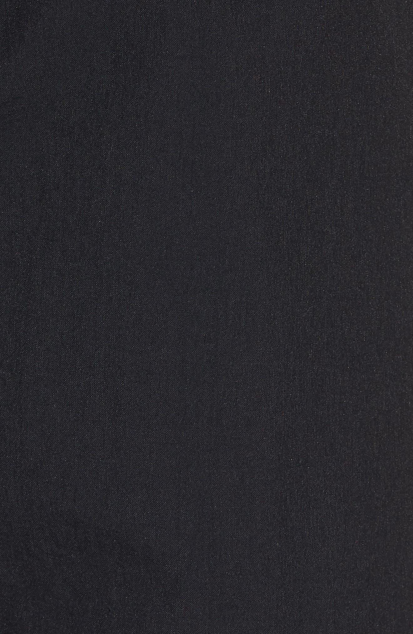 Sportswear Woven Shorts,                             Alternate thumbnail 5, color,                             Black/ Black