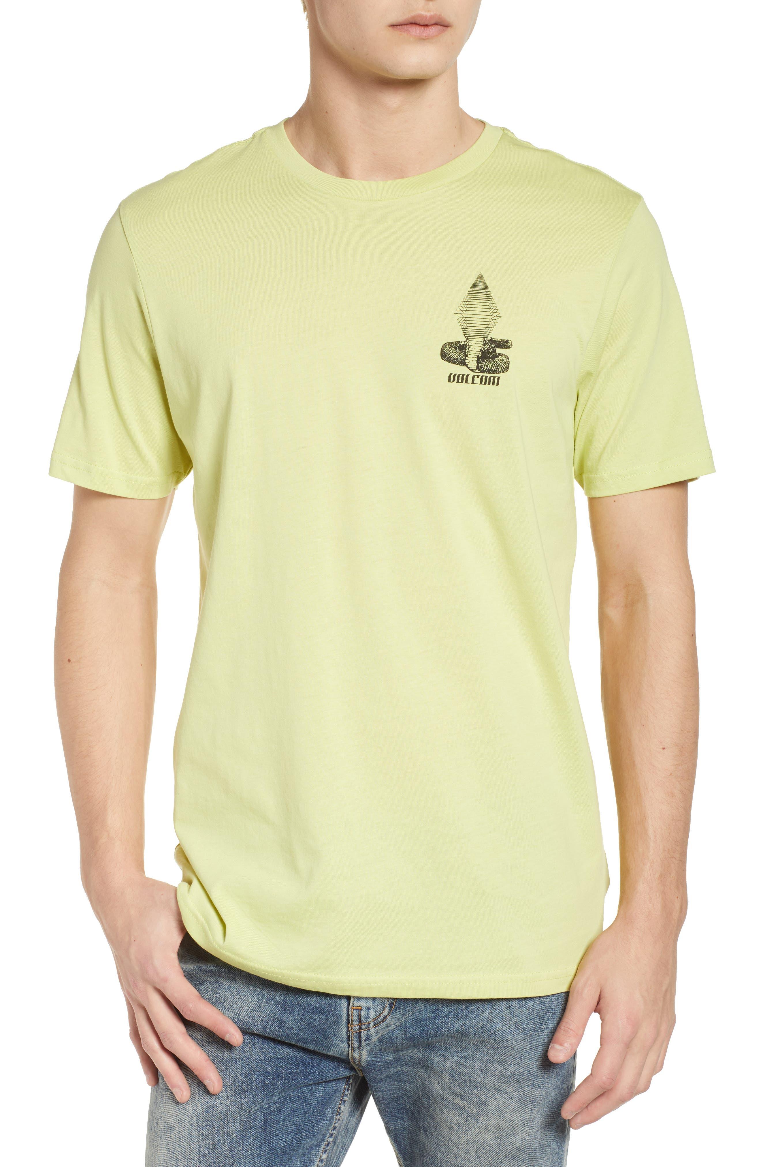 Digital Poison Graphic T-Shirt,                             Main thumbnail 1, color,                             Lime