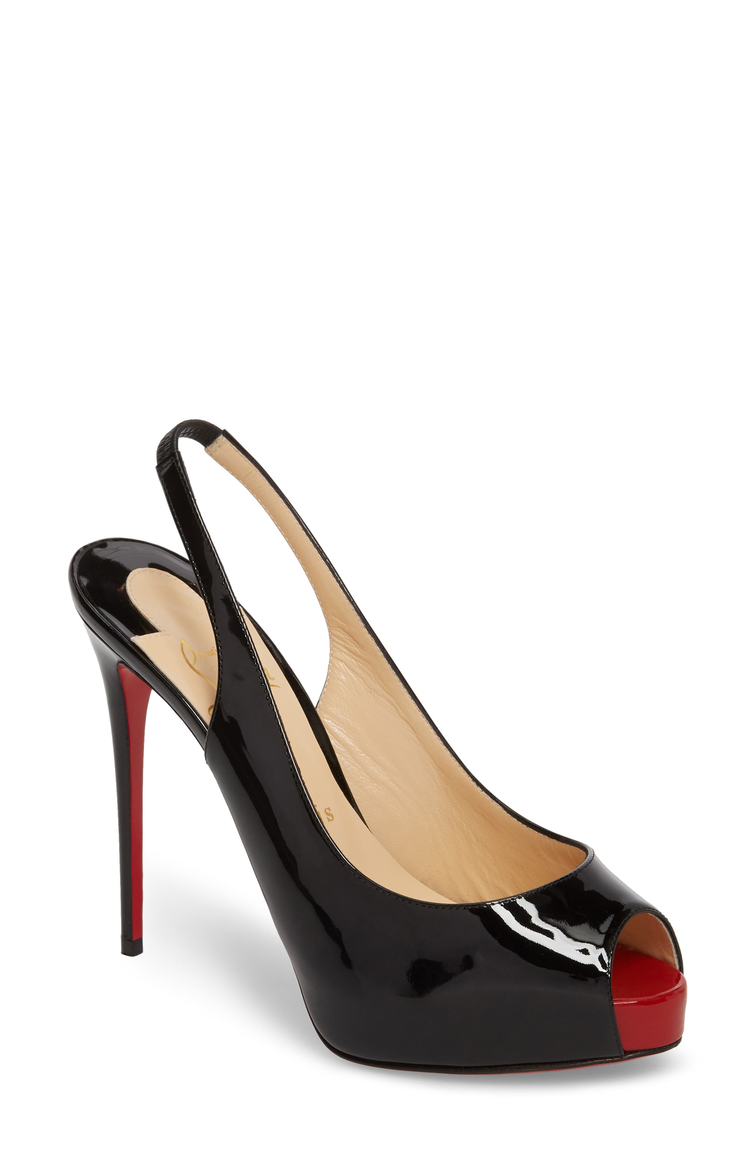 Pre-owned - Private Number heels Christian Louboutin K0Z6ZrYO