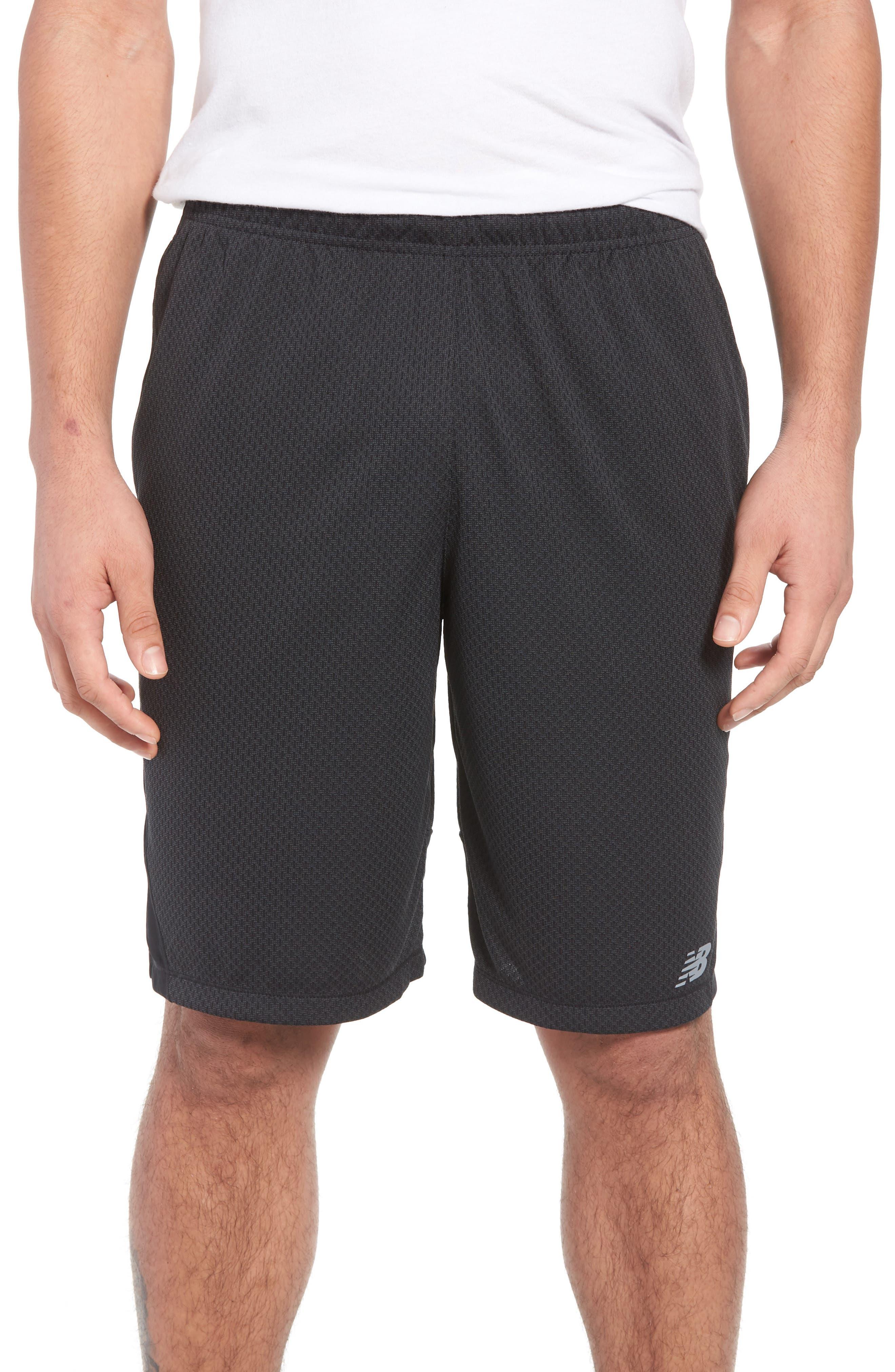 Tencity Knit Shorts,                             Main thumbnail 1, color,                             Black